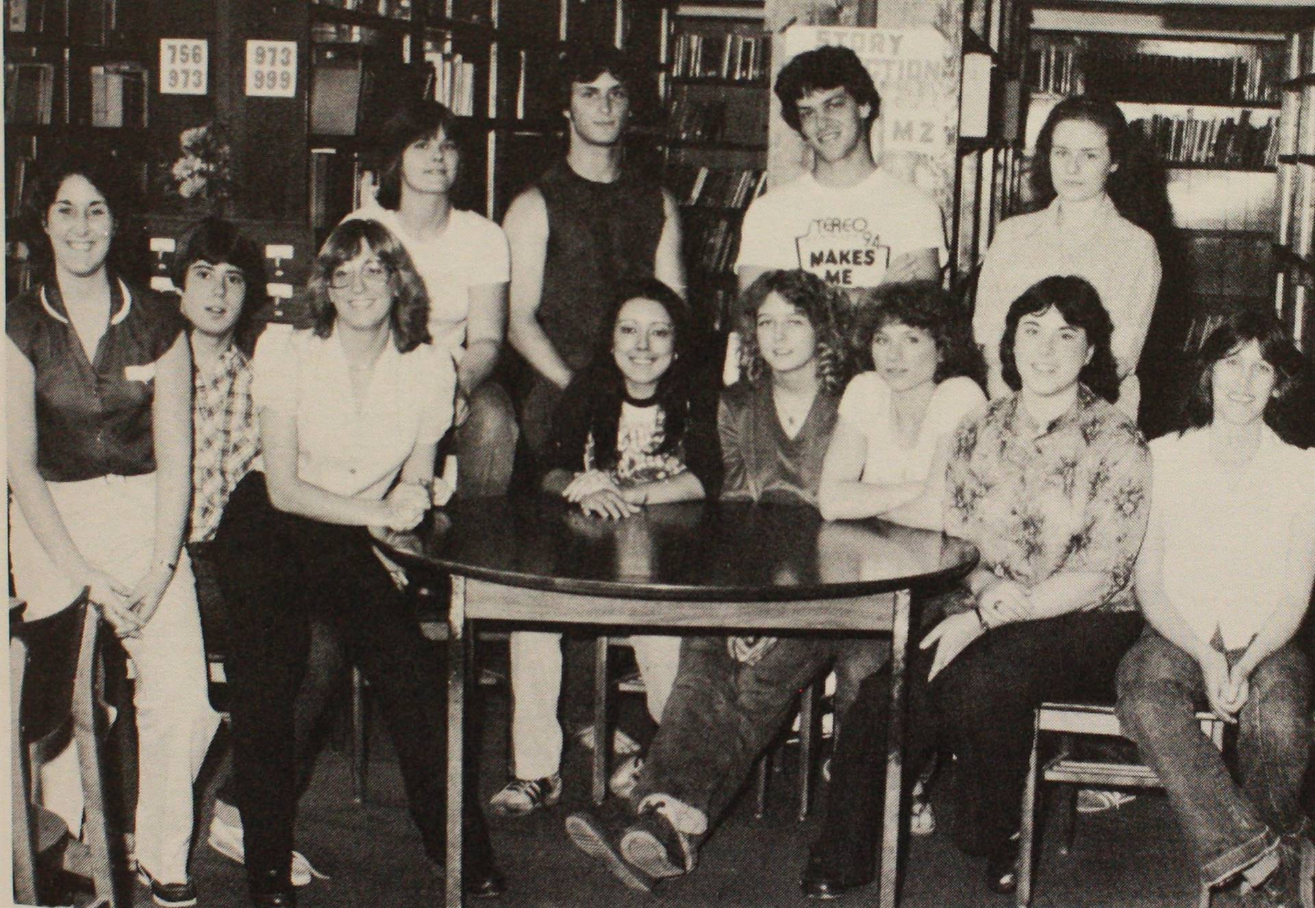1981 Yearbook Staff