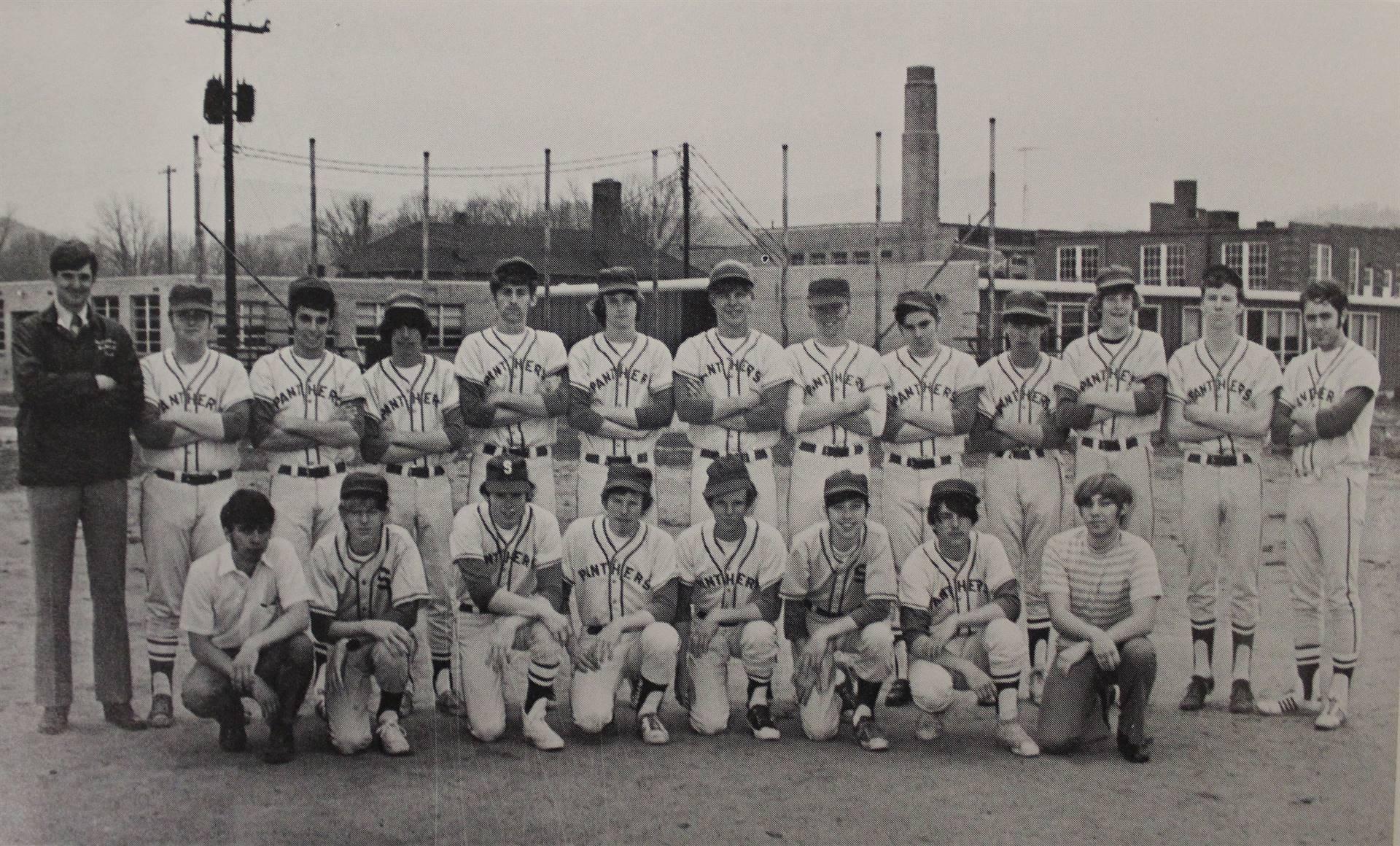 1972 Baseball Team