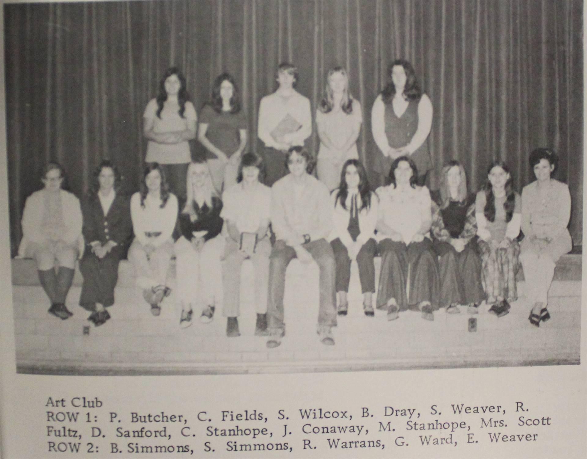 1973 Art Club