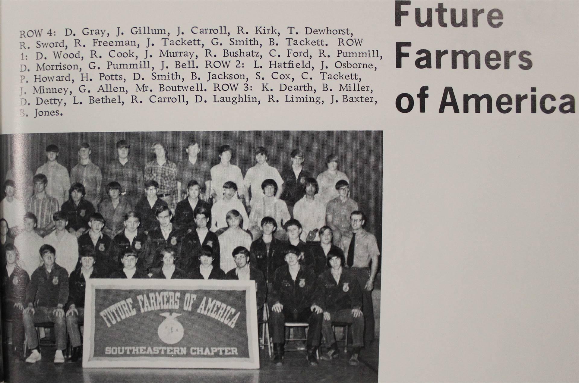 1973 Future Farmers of America