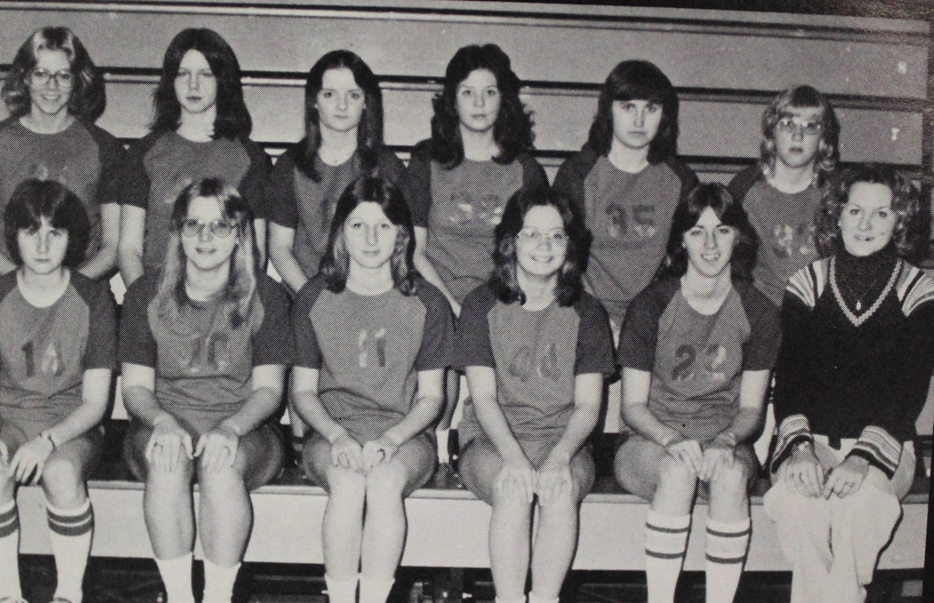 1977 Girls Basketball
