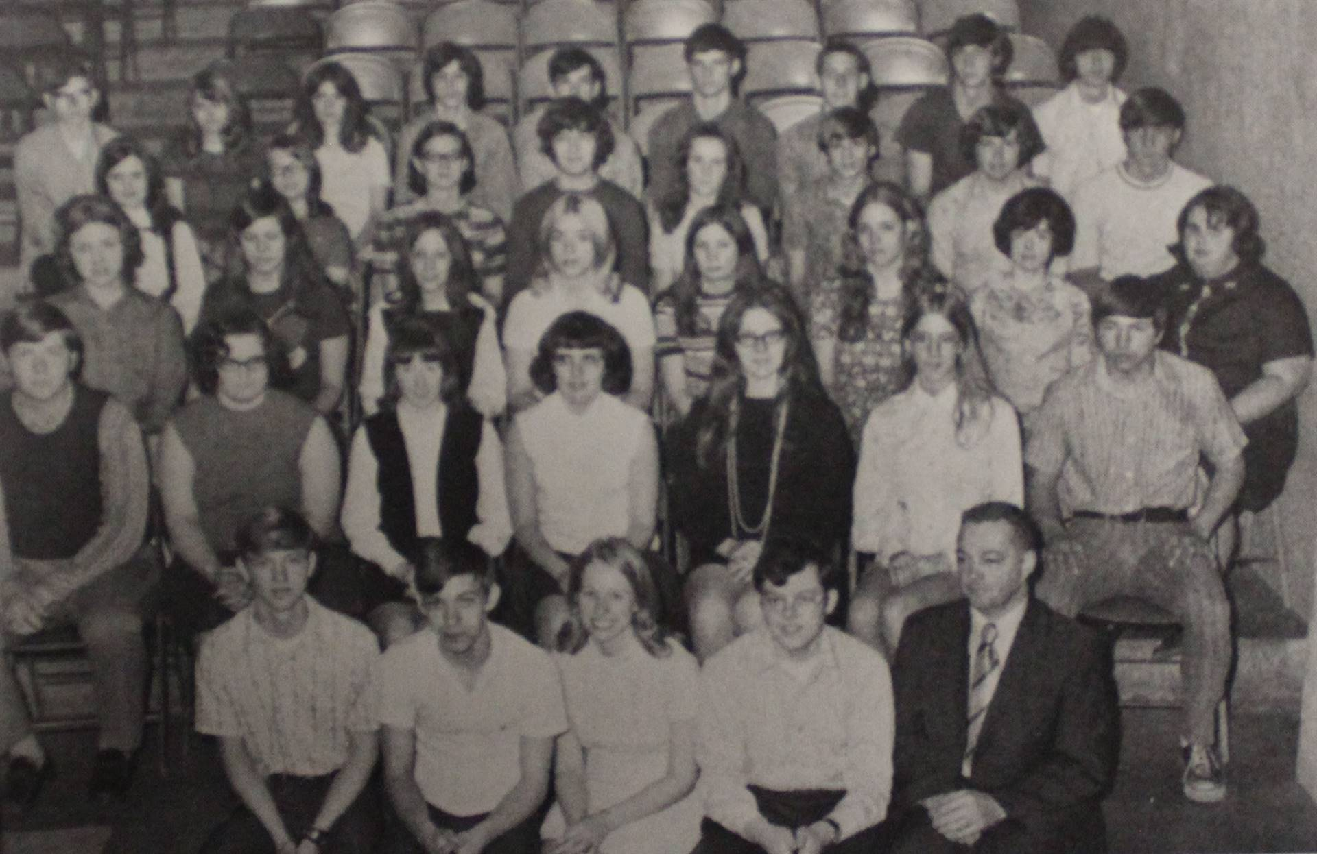 1972 Senior National Honor Society