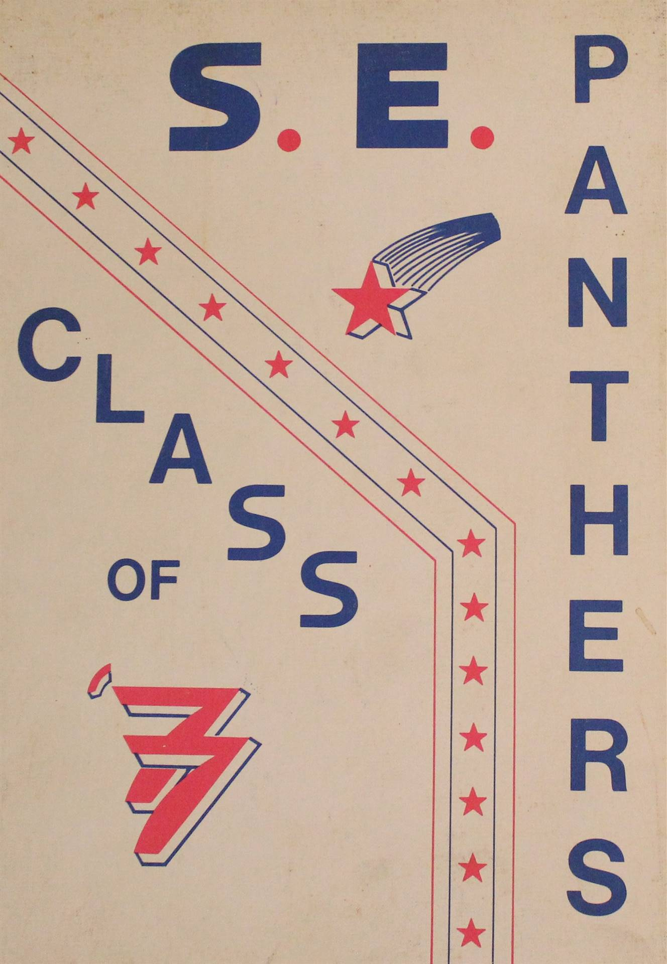 1977 Year Book Cover