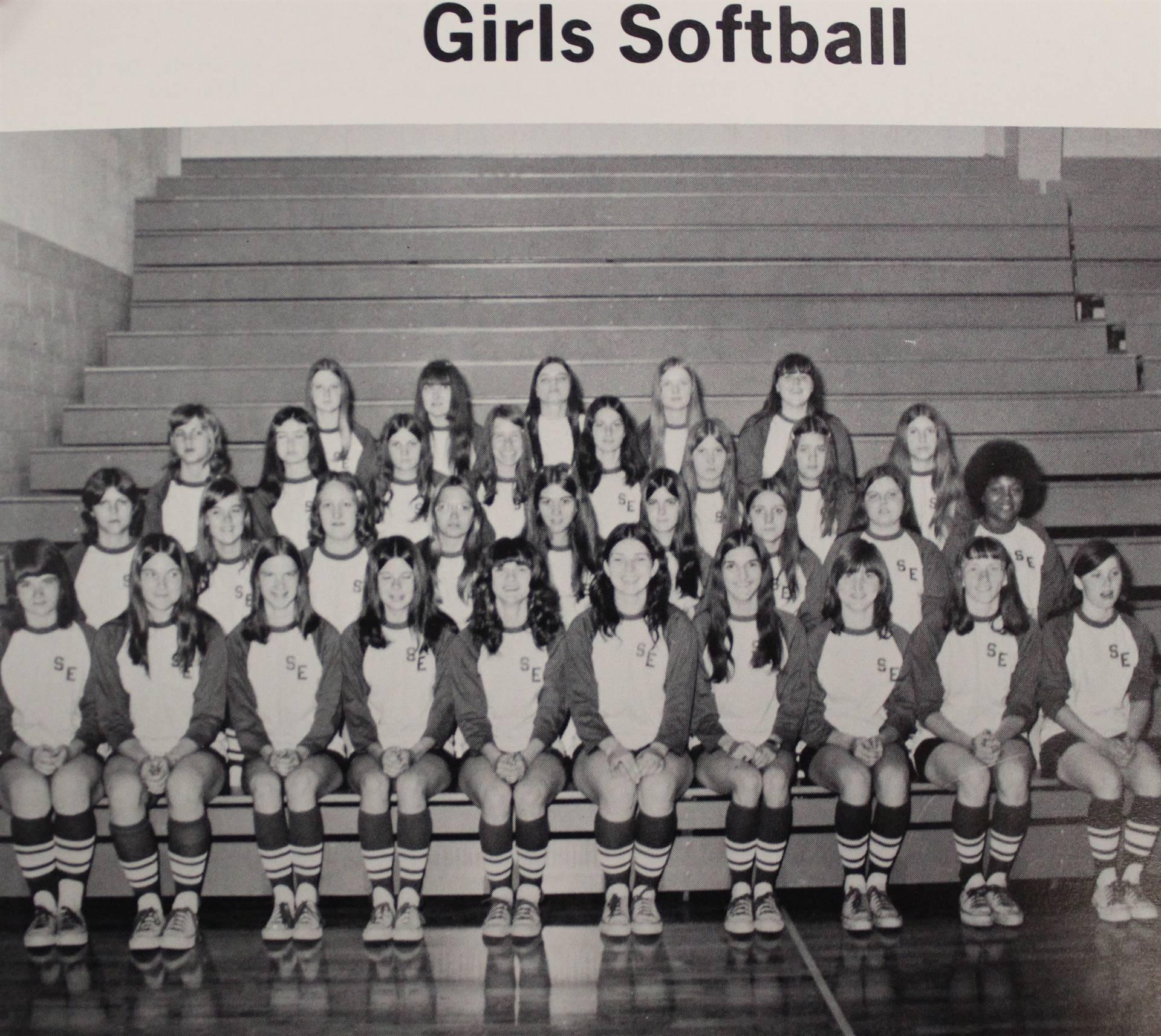 1973 Girls Softball