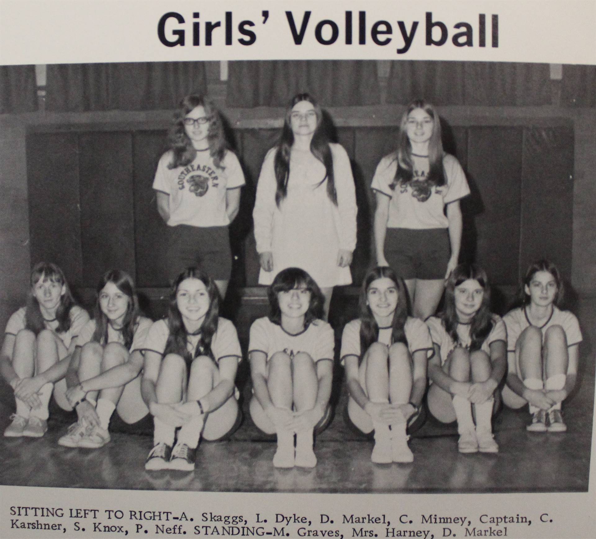 1973 Girls' Volleyball