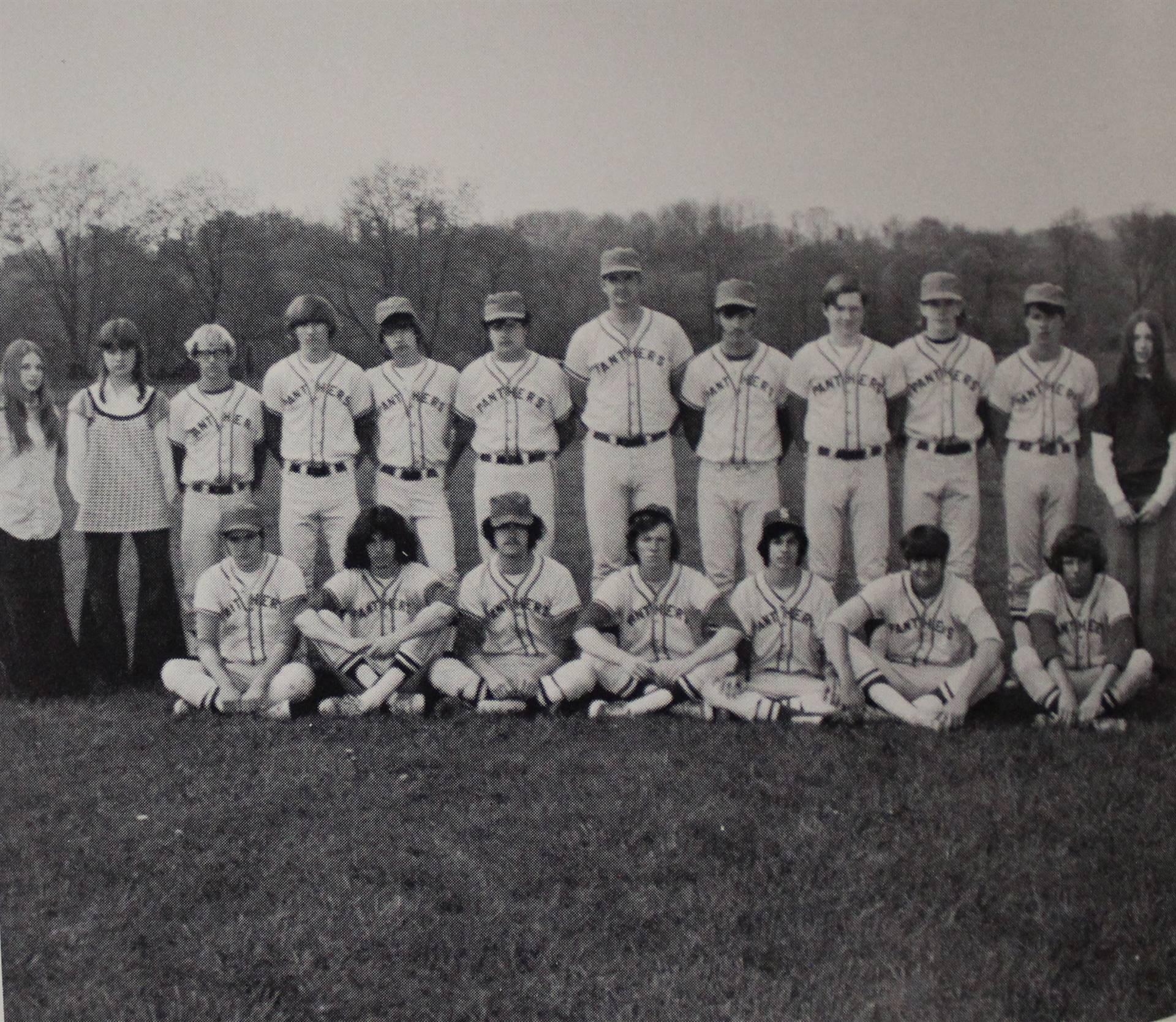 1973 Varsity Baseball