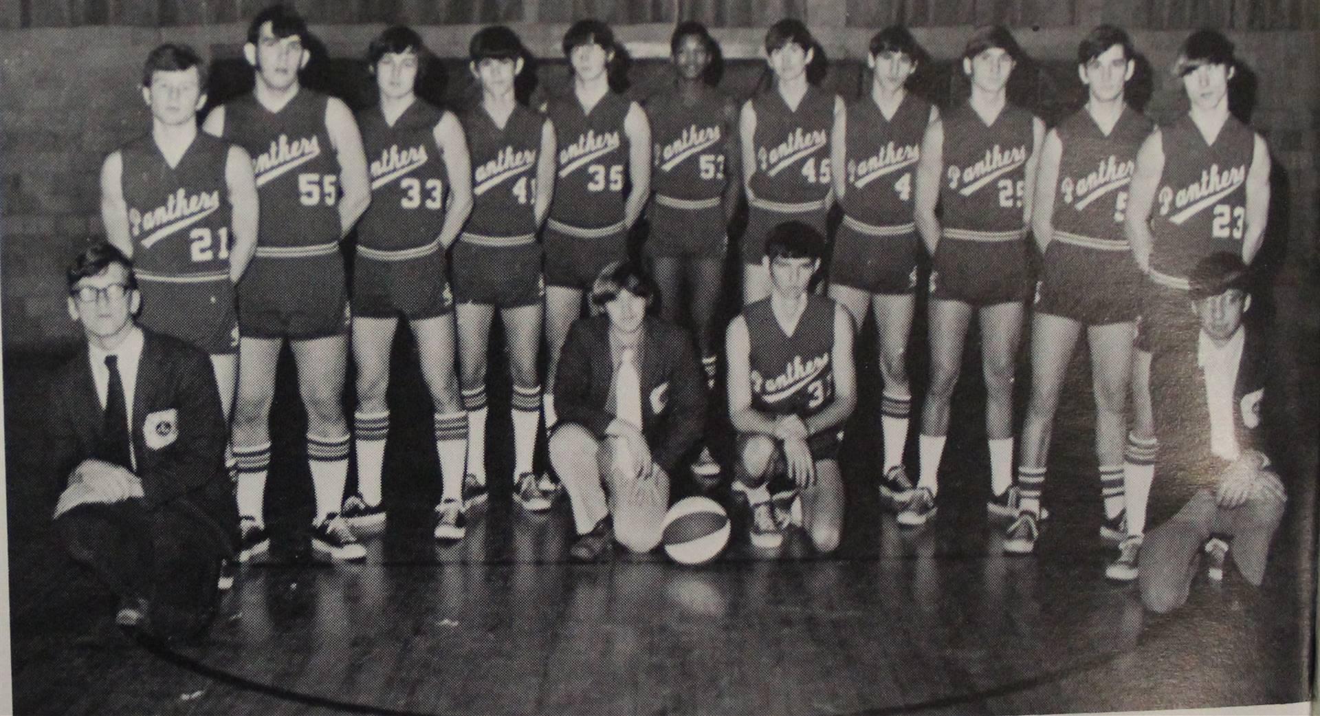 1973 Varsity Basketball