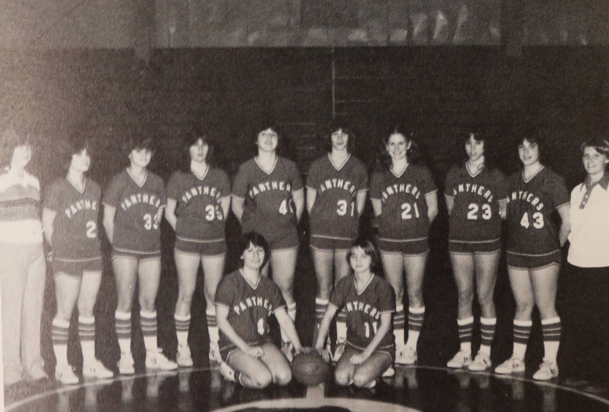 1980 Girls Basketball