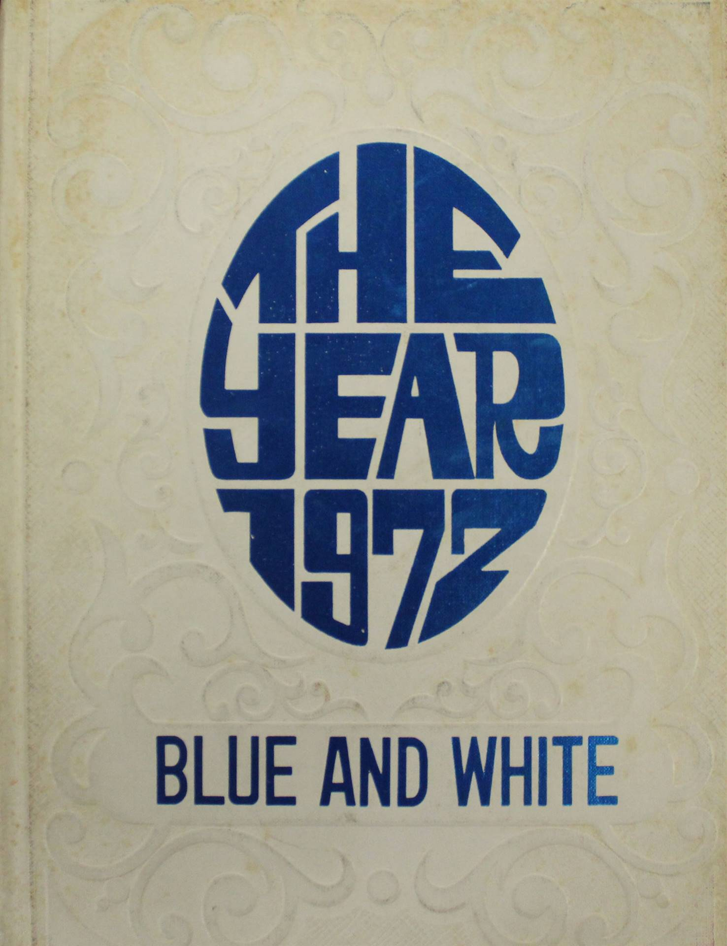 1972 Yearbook Cover Page
