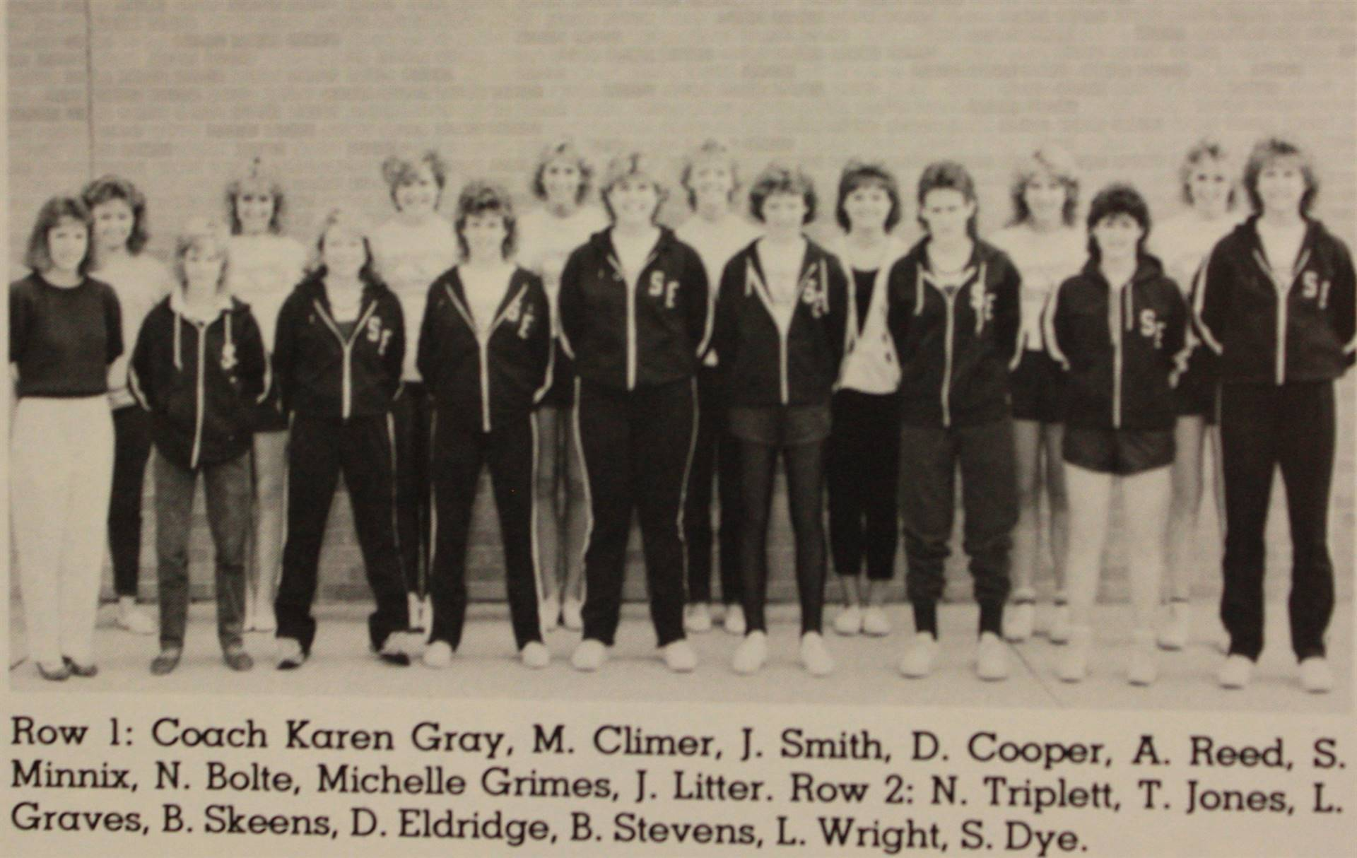 1987 Girls Track