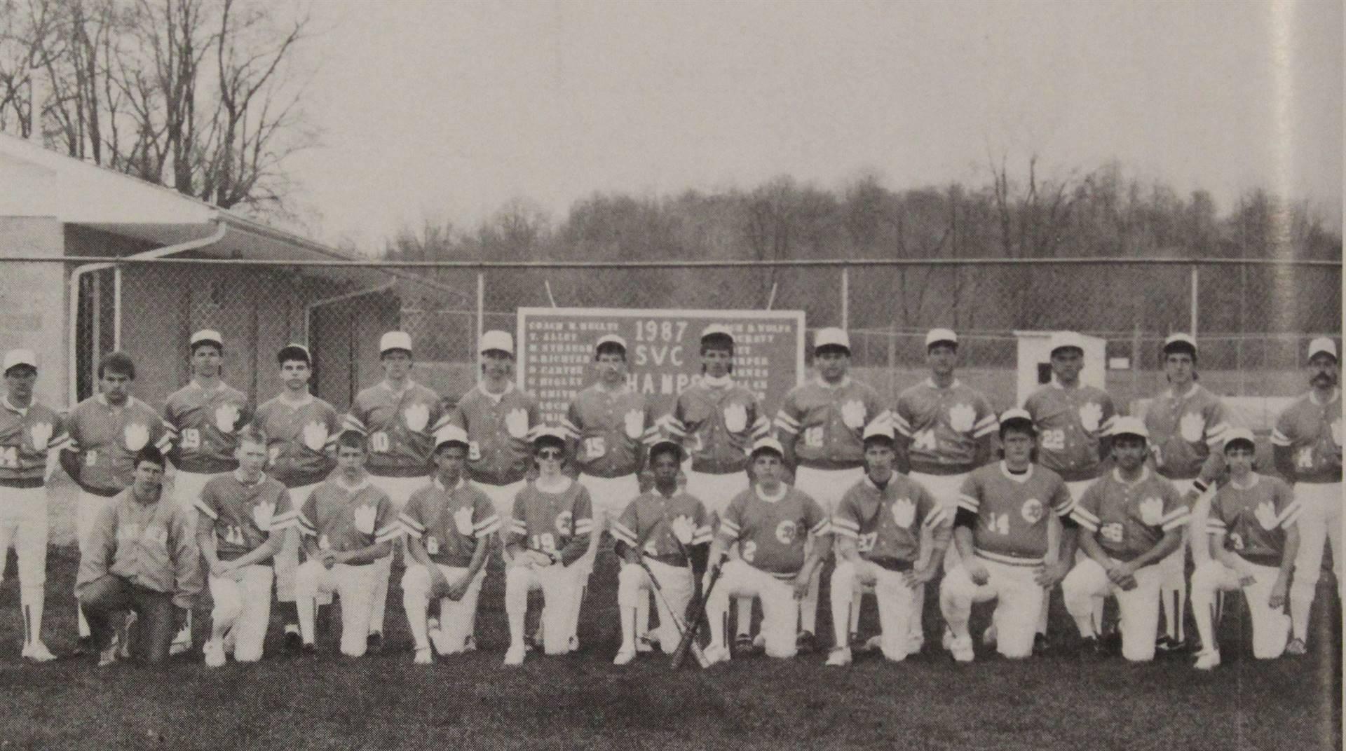 1988 Varsity Boys Baseball