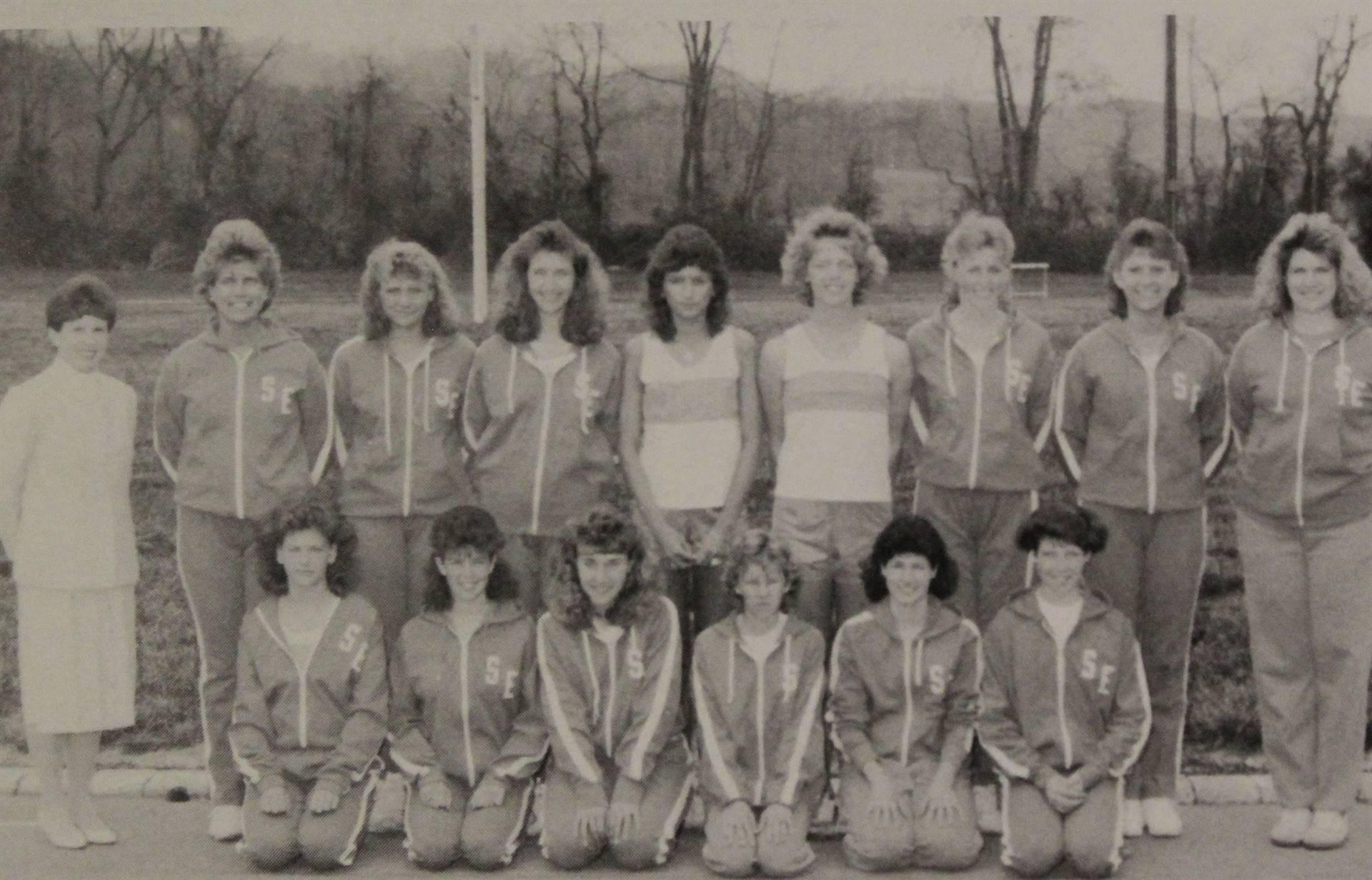 1988 Varsity Girls Track