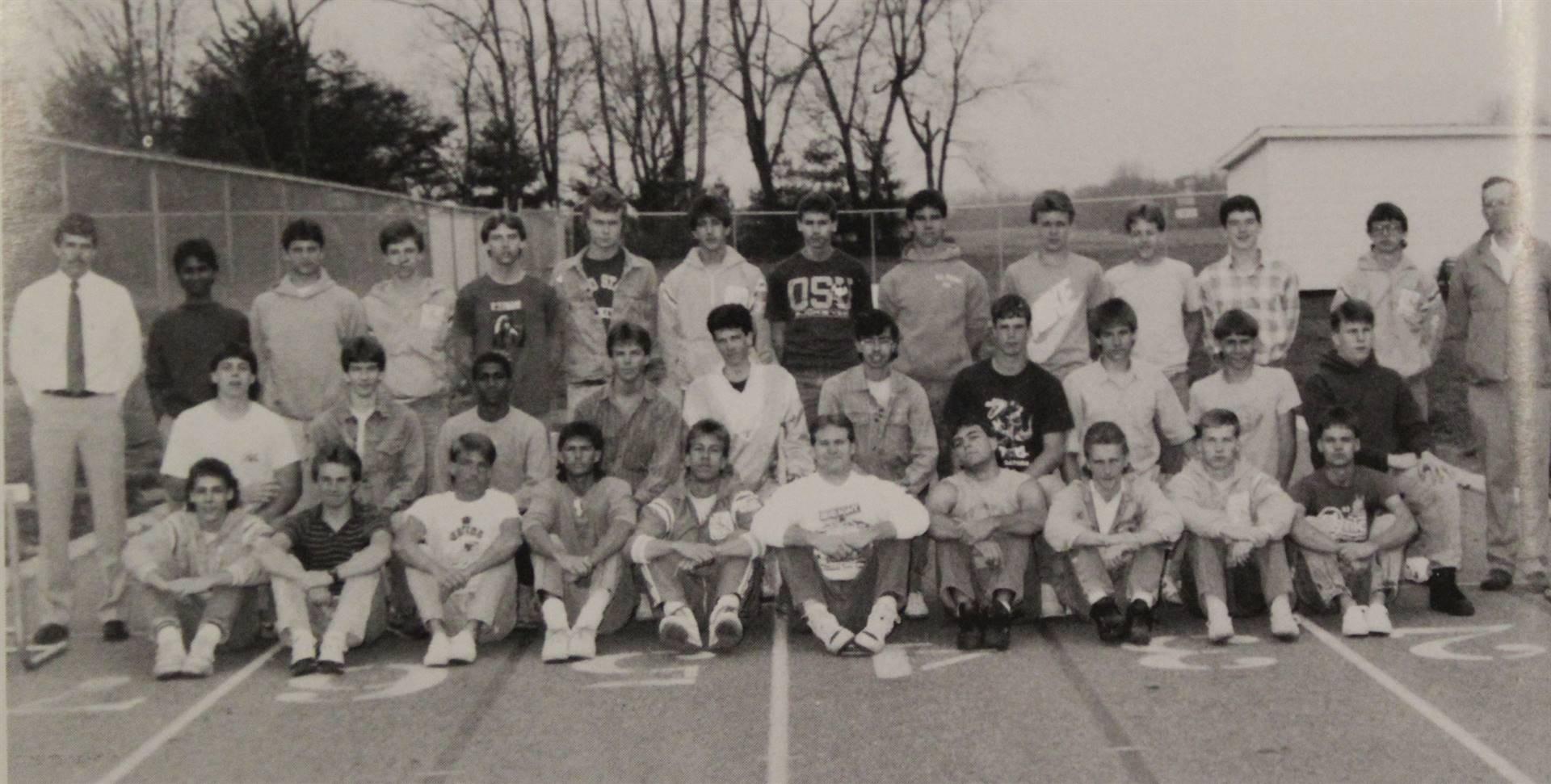 1988 varsity Track