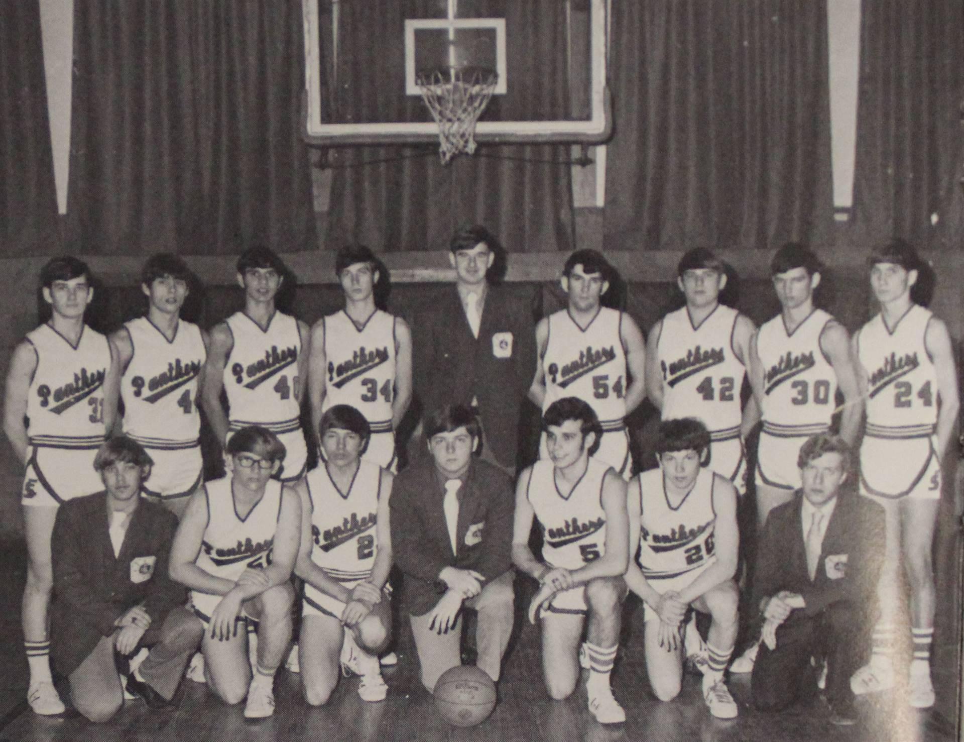 1972 Varsity Basketball