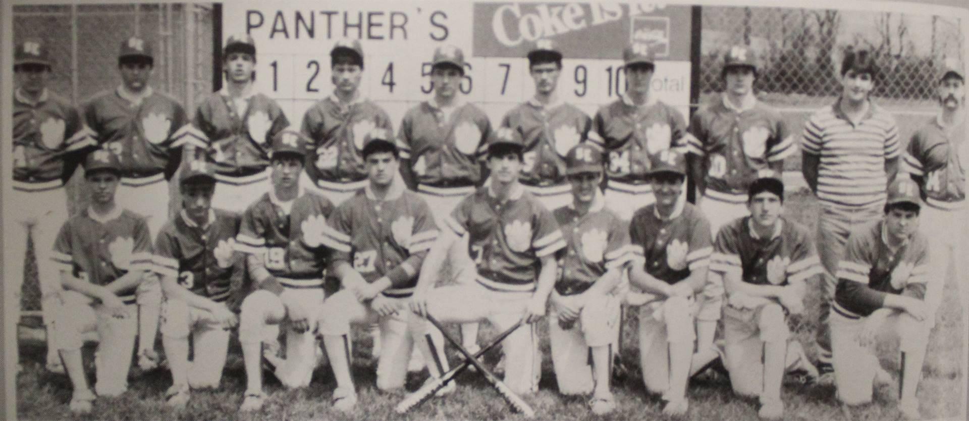 1986 Baseball Team