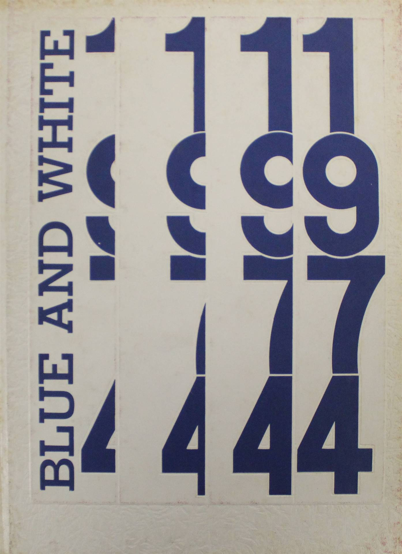 1974 Yearbook Cover