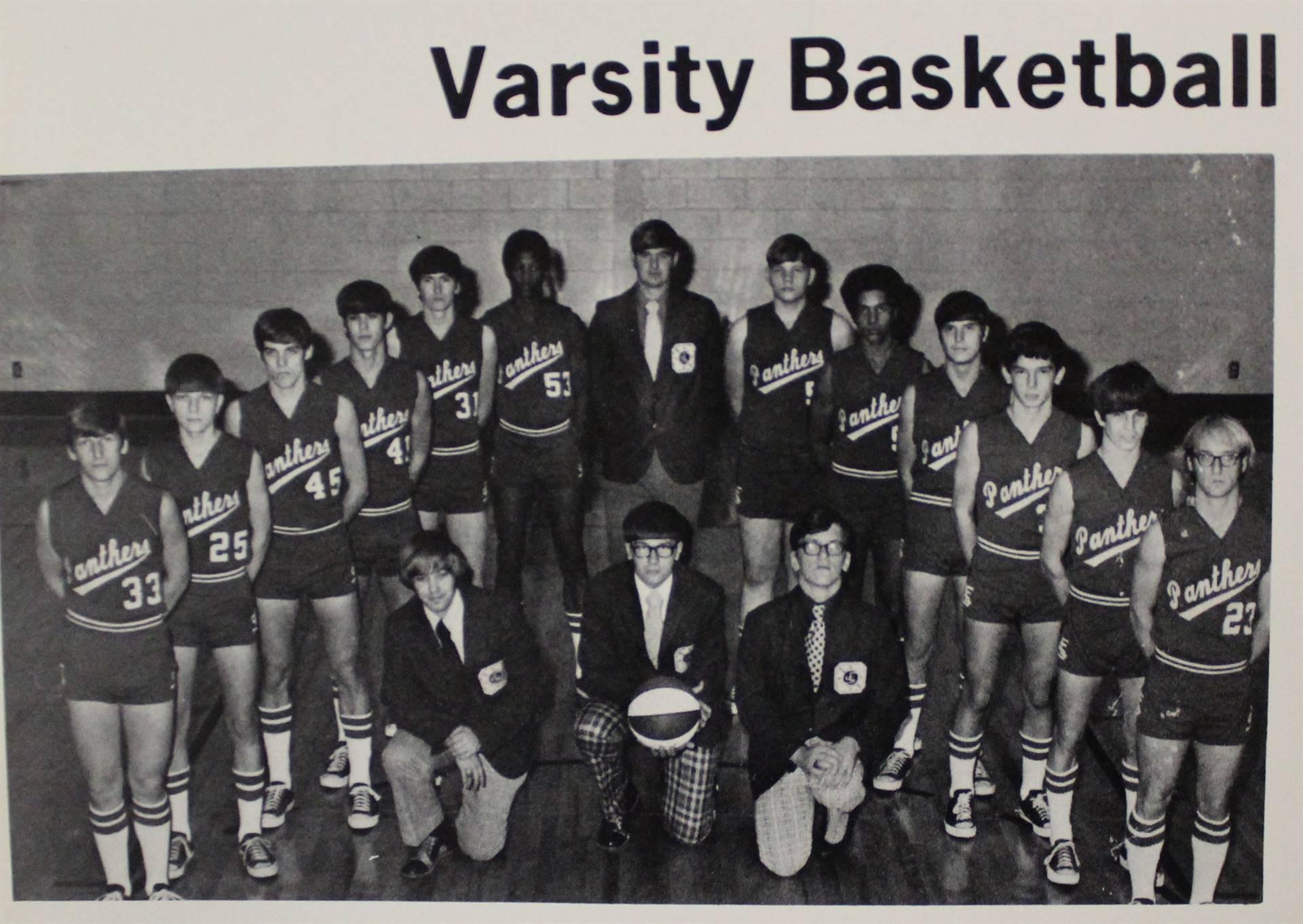 1974 Varsity Basketball