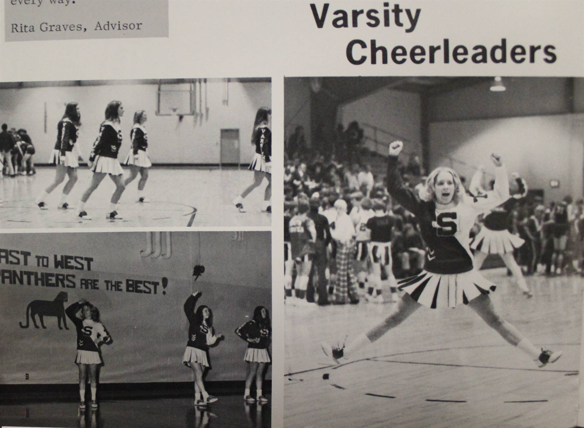 1974 Varsity Cheerleaders