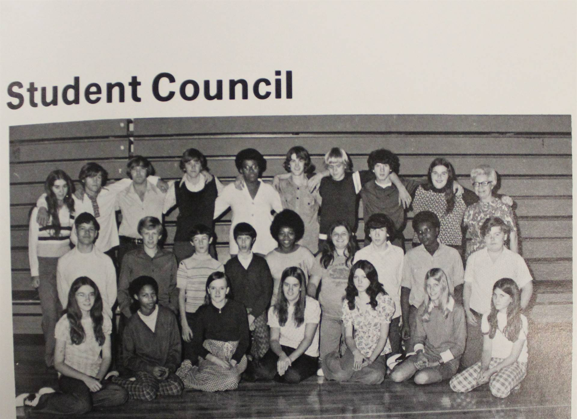 1974 Student Council