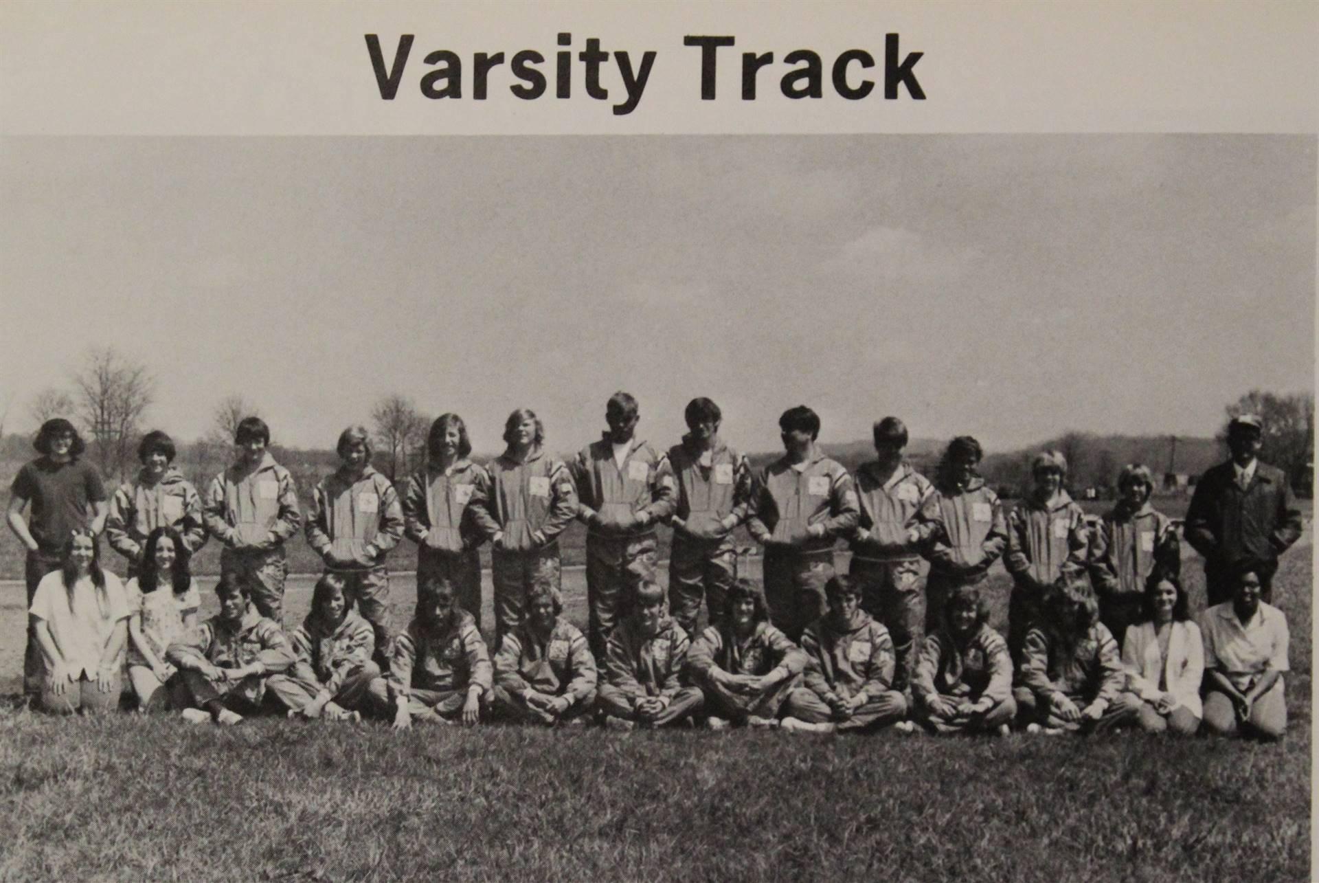 1974 Varsity Track