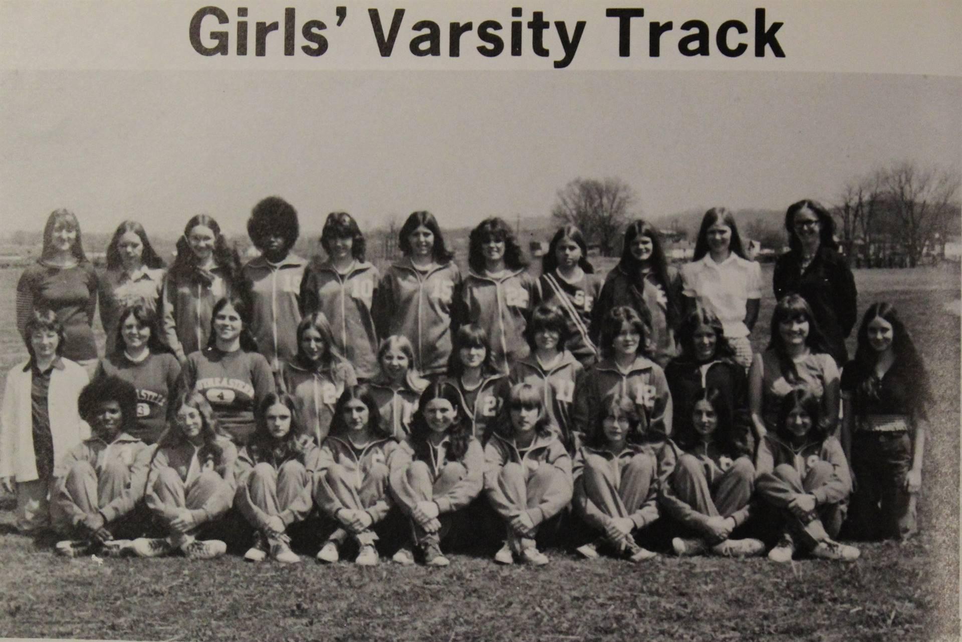 1974 Varsity Girls Track