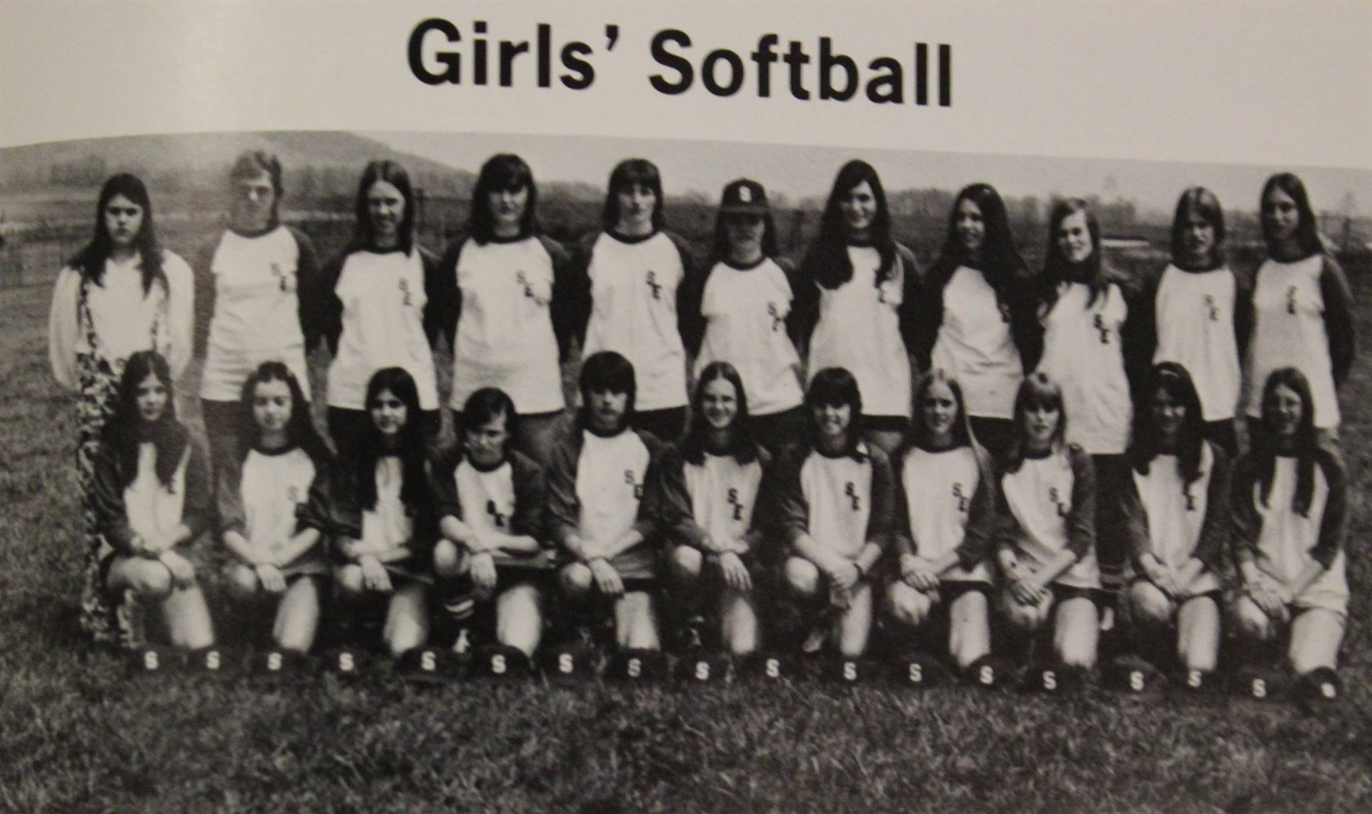 1974 Varsity Softball