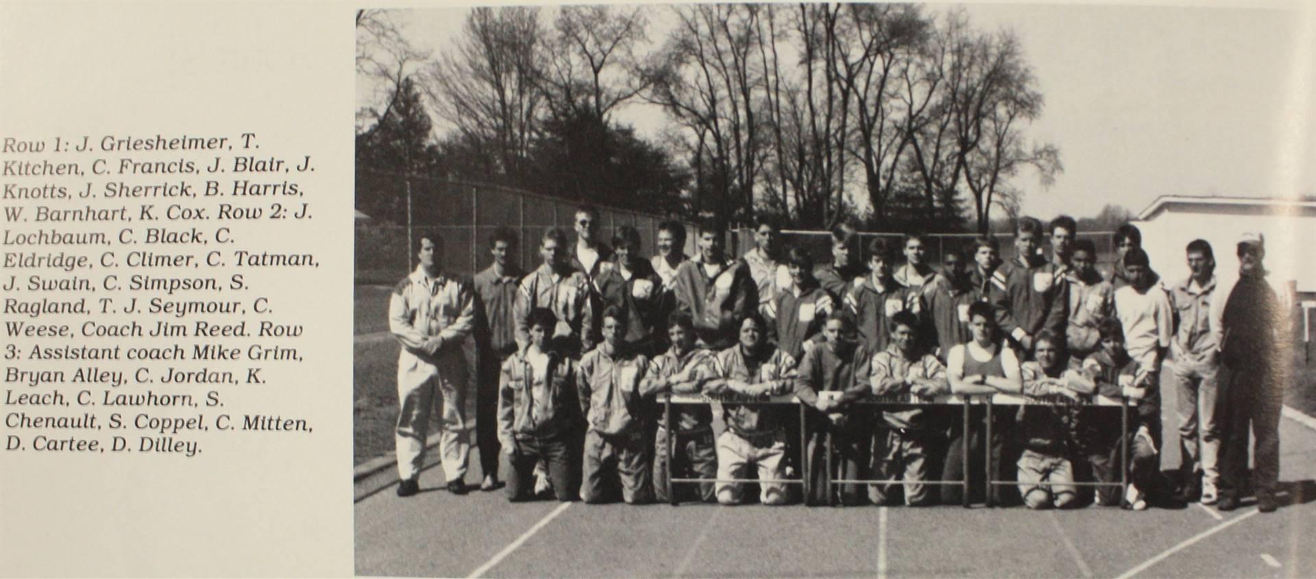1990 Boys Varsity Track