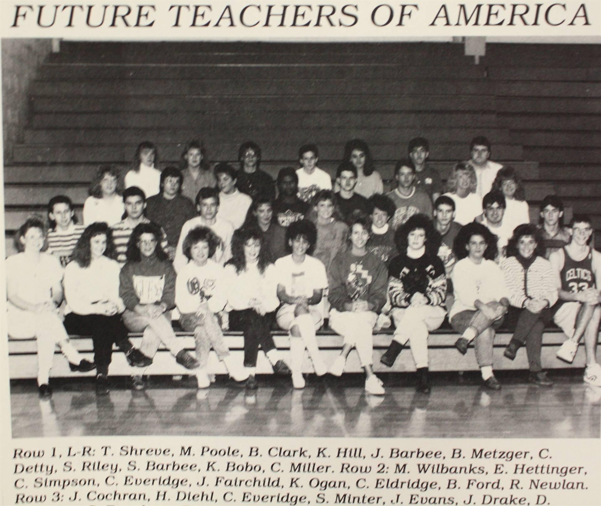 1990 Future Teachers of America
