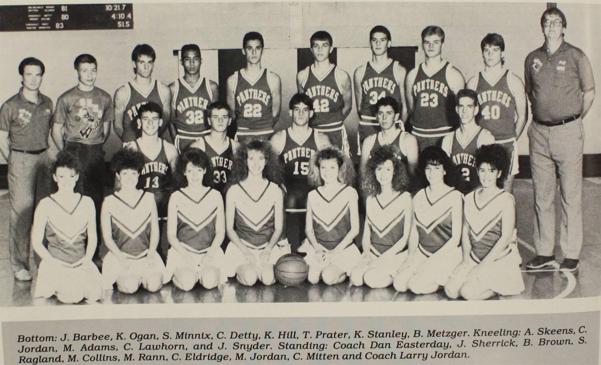 1990 Varsity Basketball