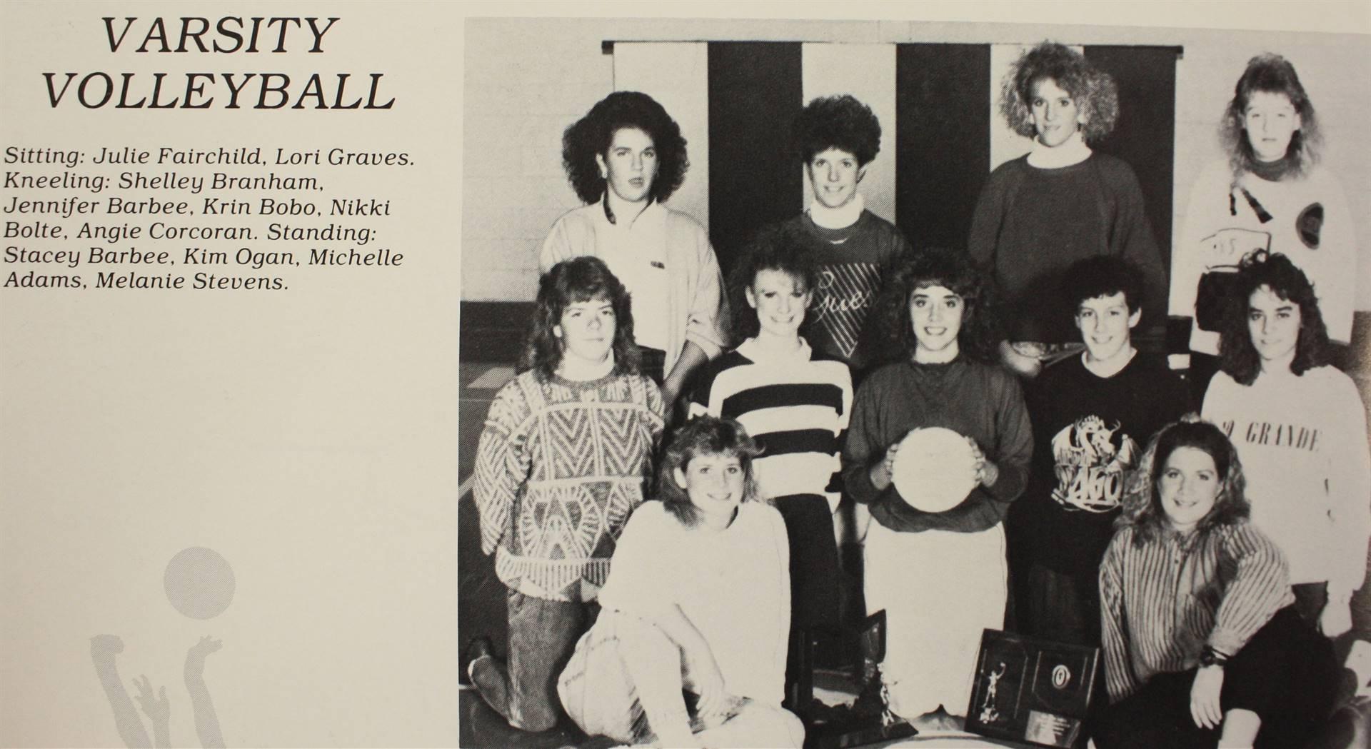 1990 Varsity Volleyball