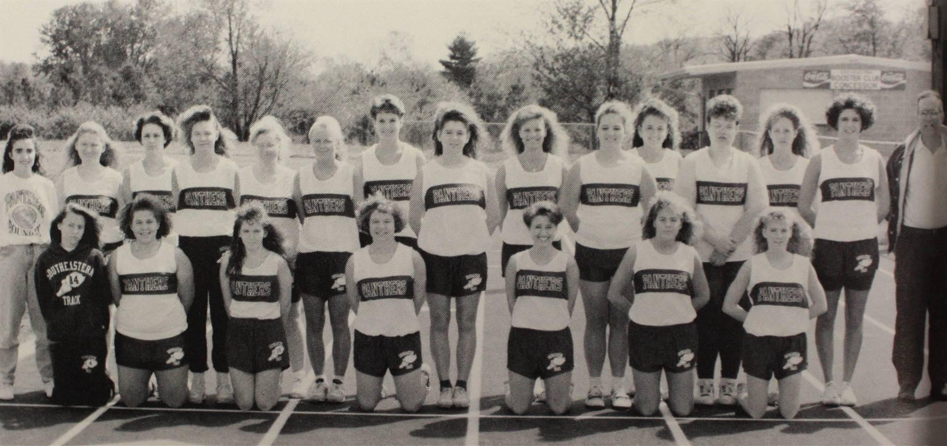 1992 Girls Track