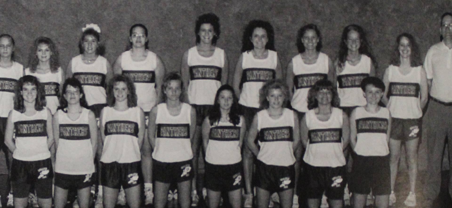 1993 Girls Track