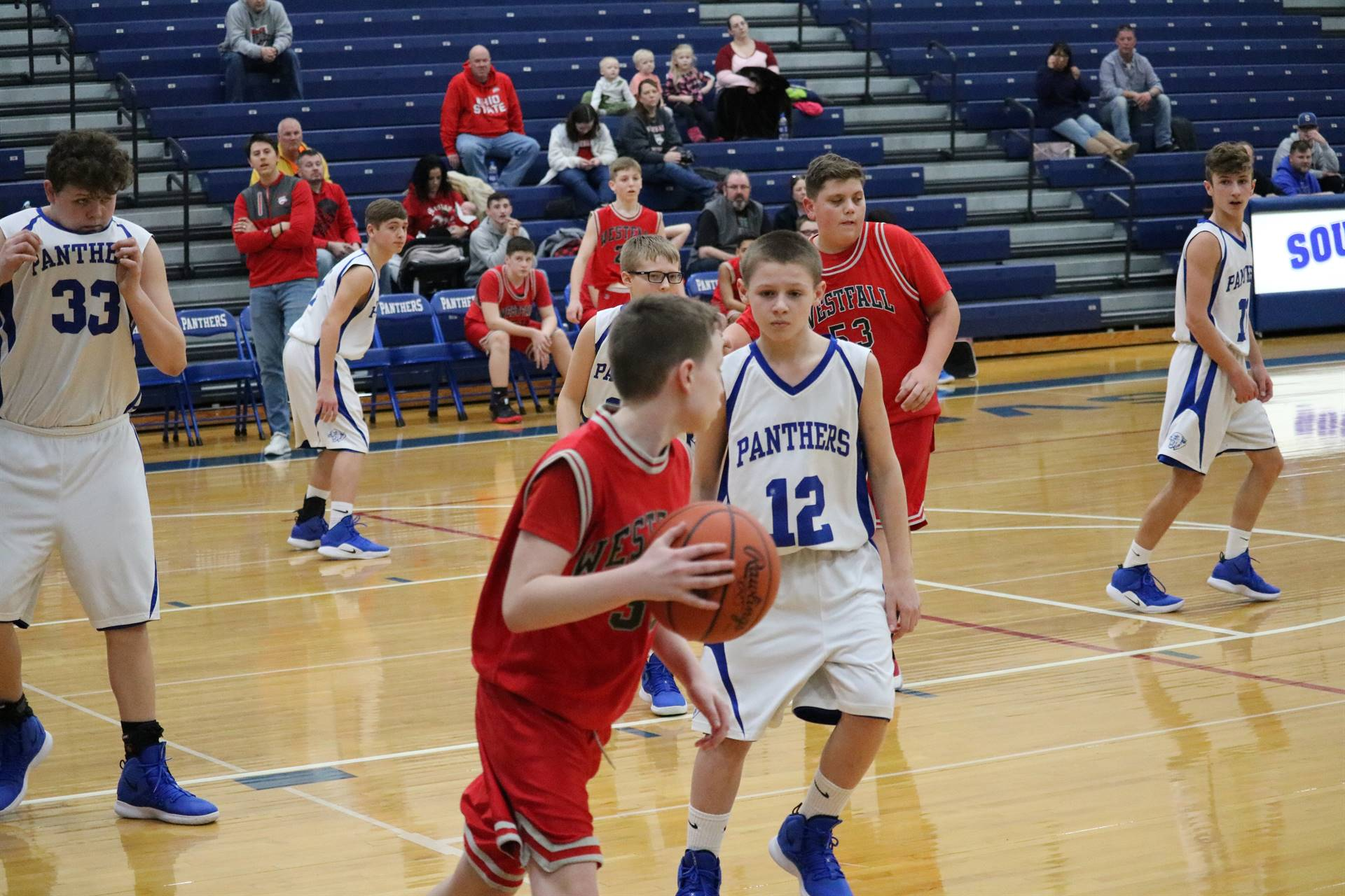 JH Boys vs Westfall