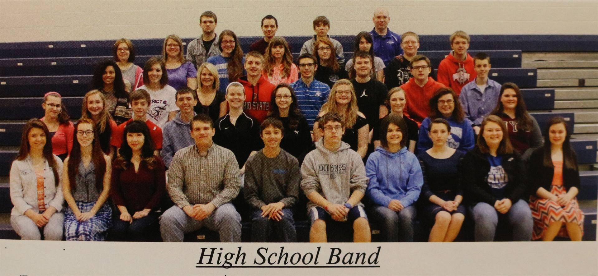 2015 High School Band
