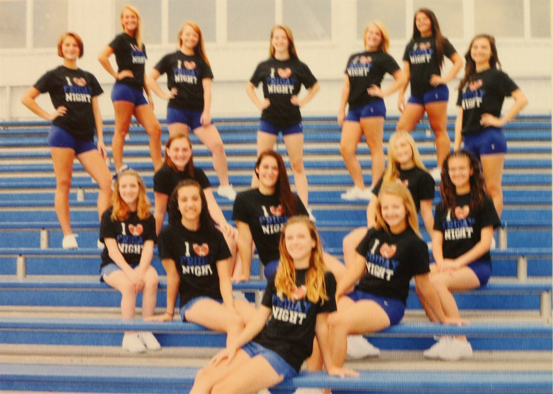 2015 Varsity Football Cheerleaders