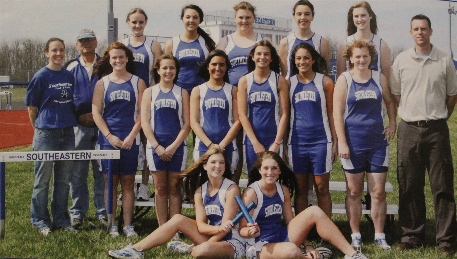 2009 girls track
