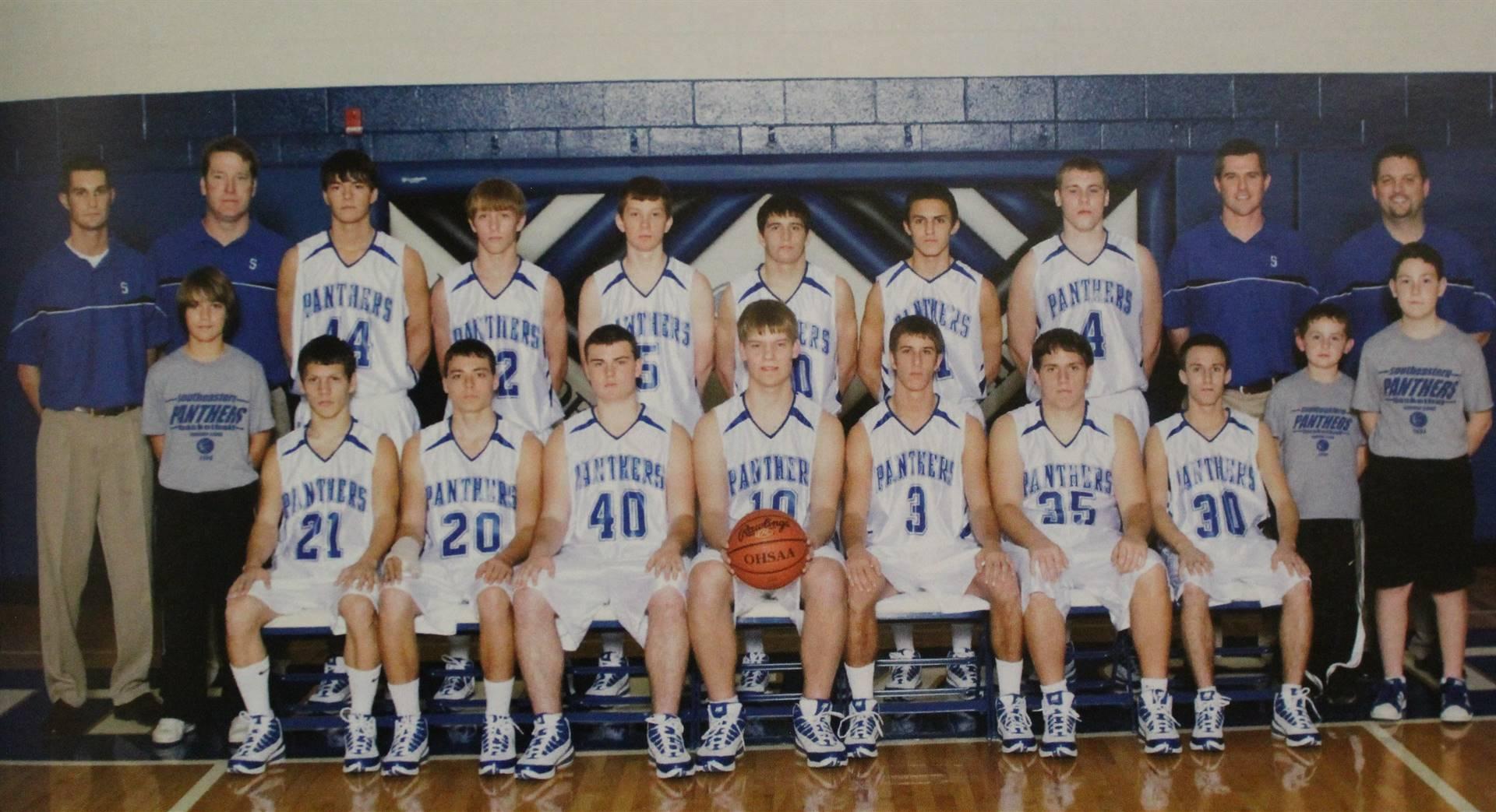 2009 Varsity boys b-ball