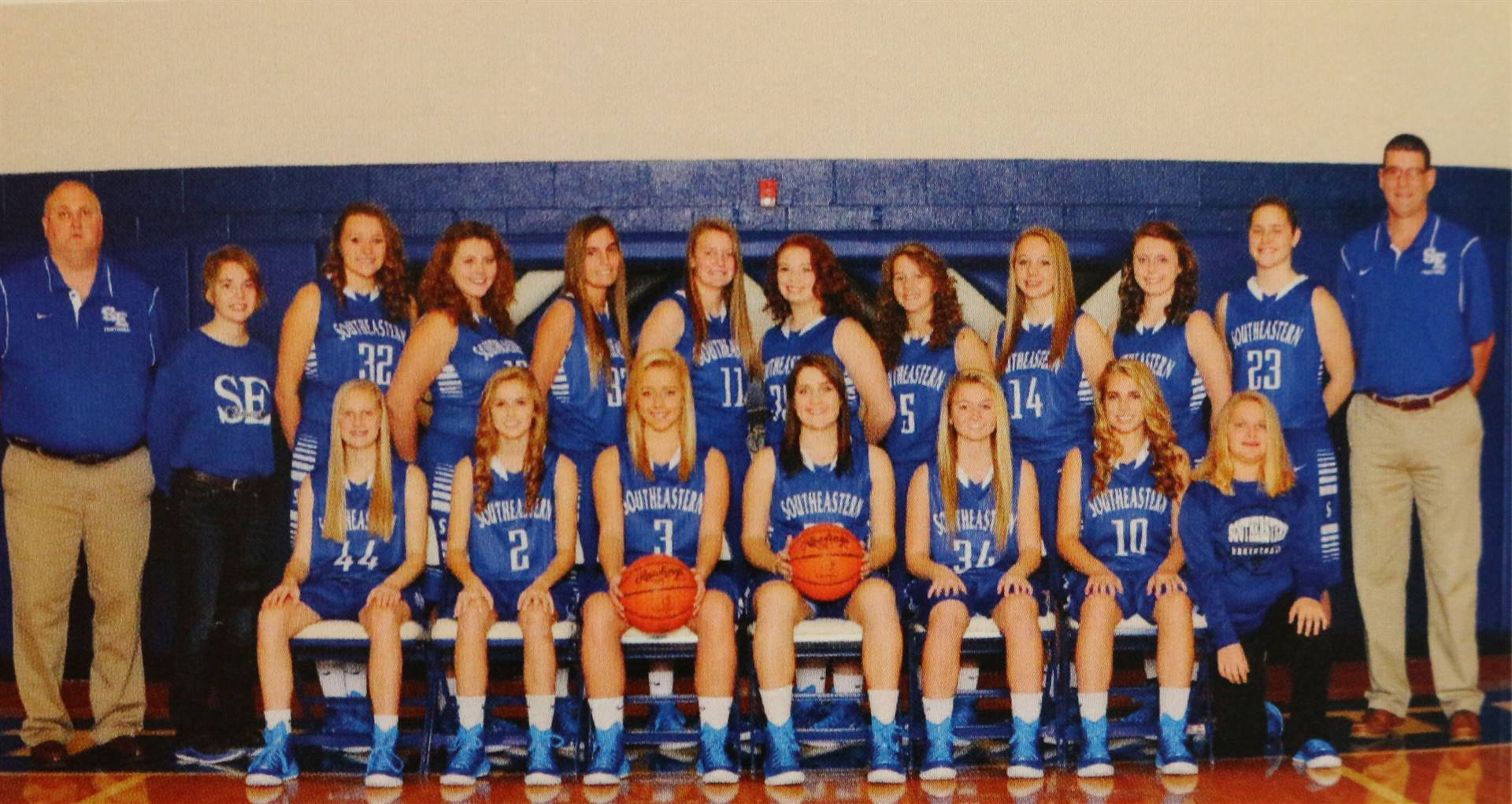 2015 Varsity Girls Basketball
