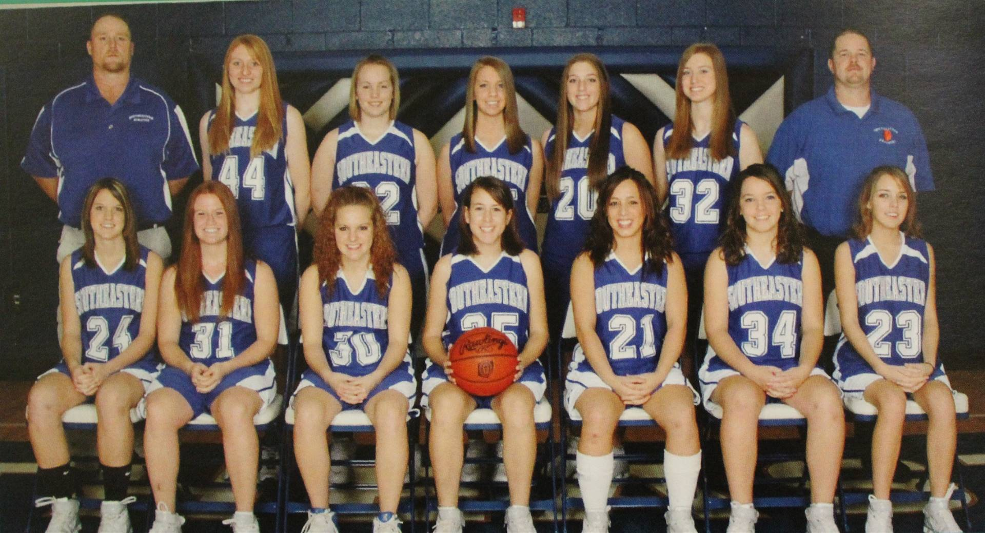 2009 girls varsity b-ball