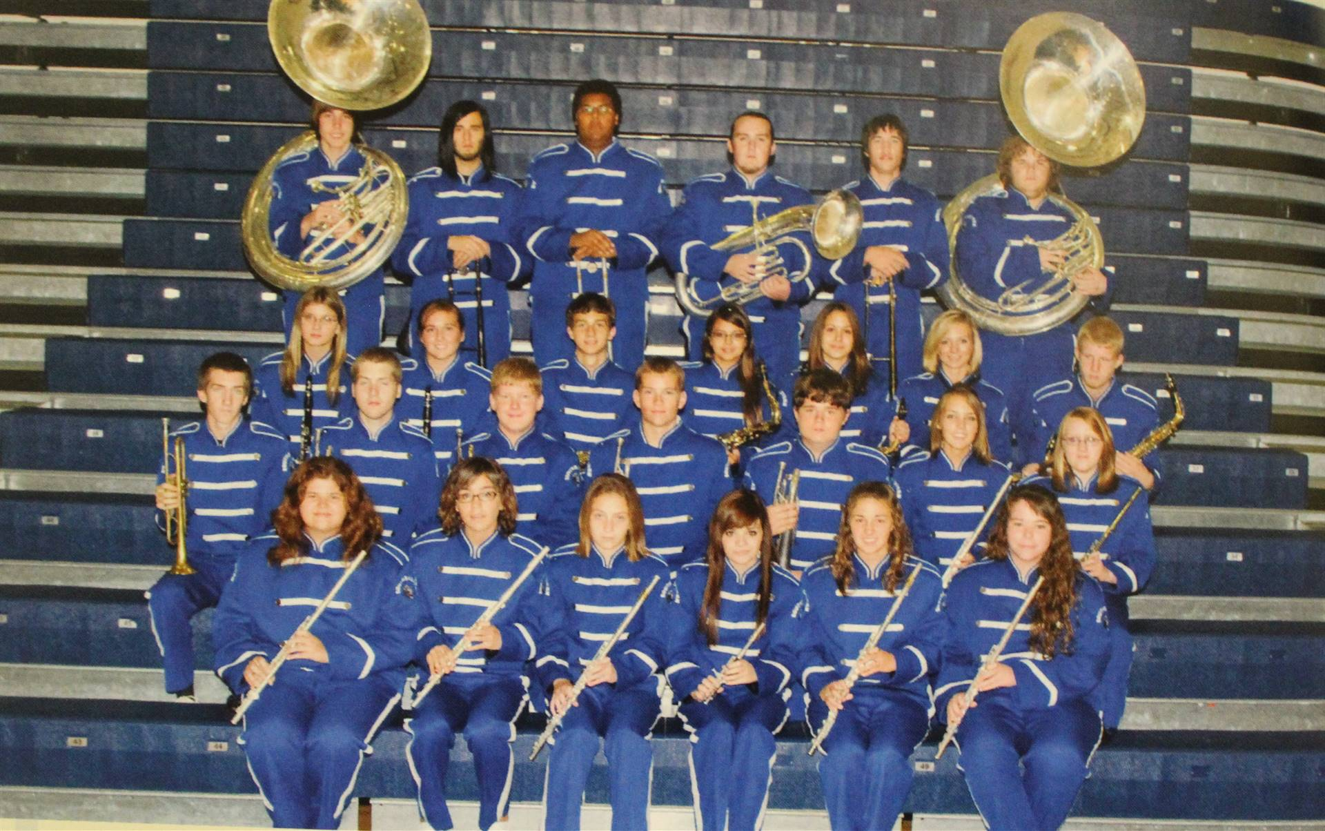 2009 marching band