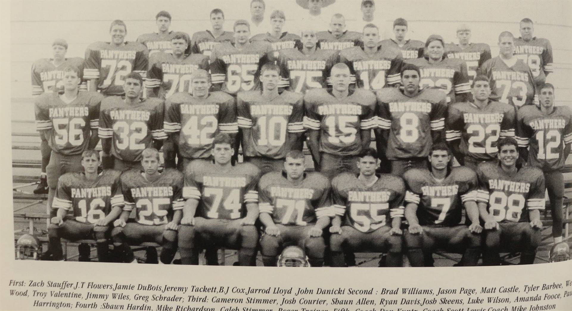 1998 Varsity Football
