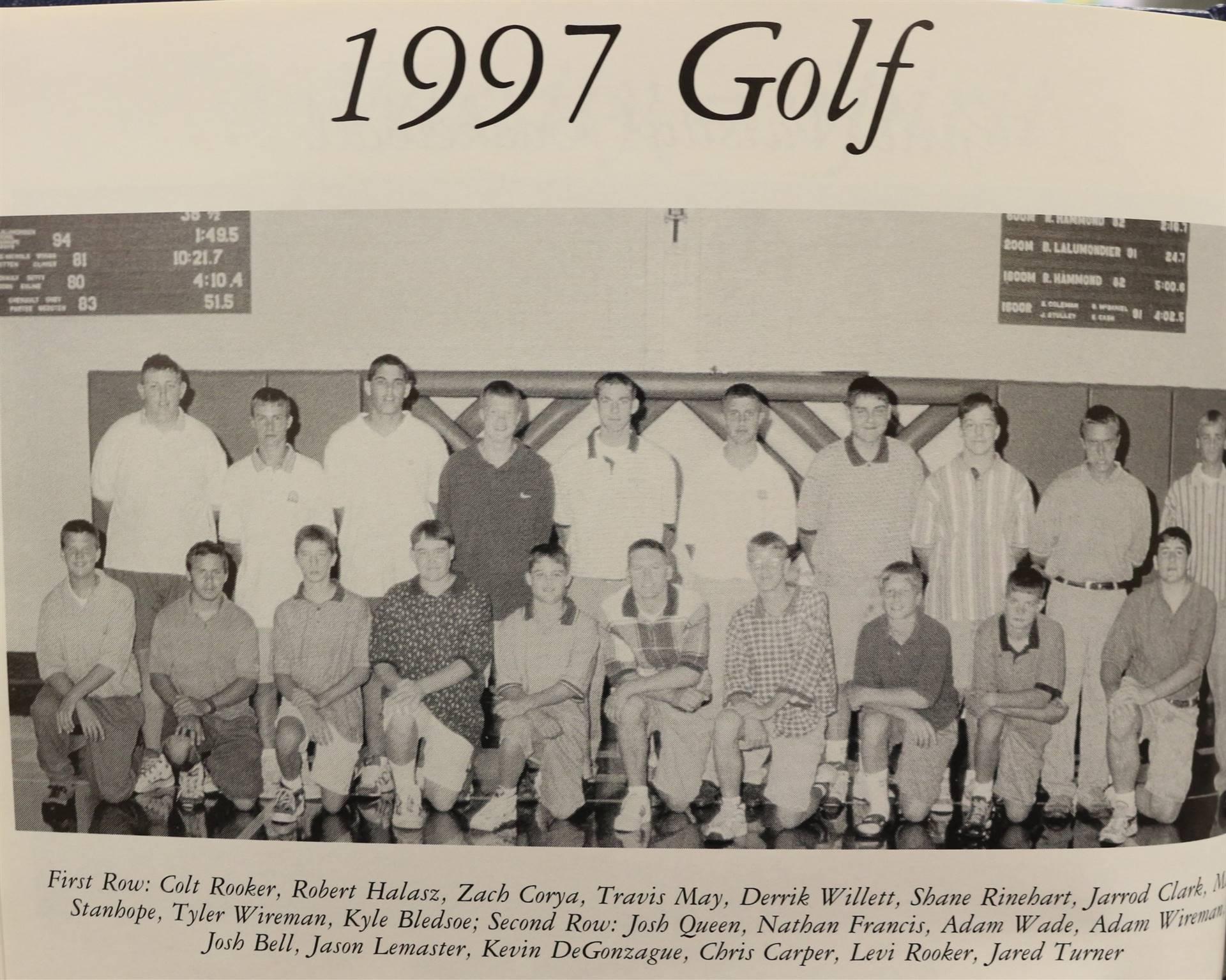 1998 Golf