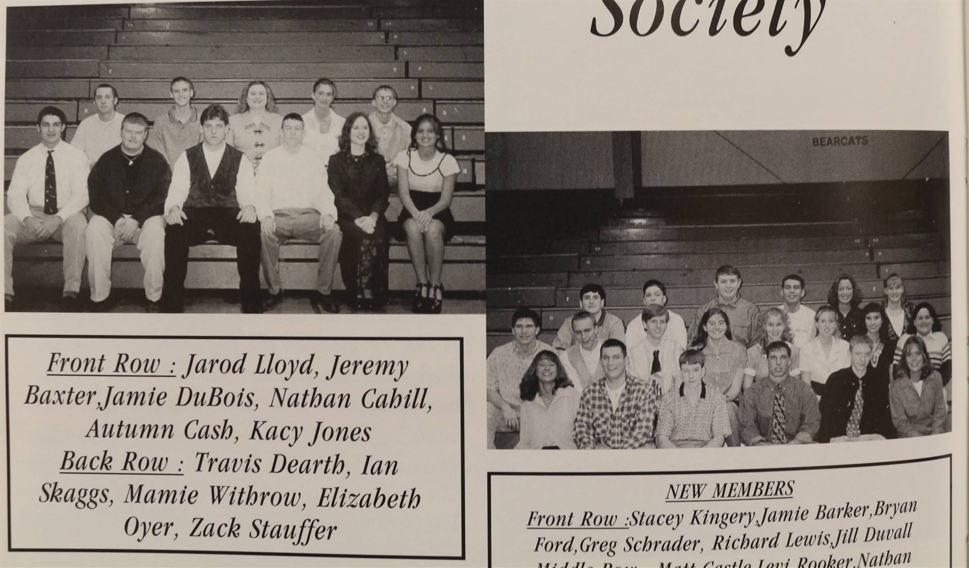 1998 National Honor Society