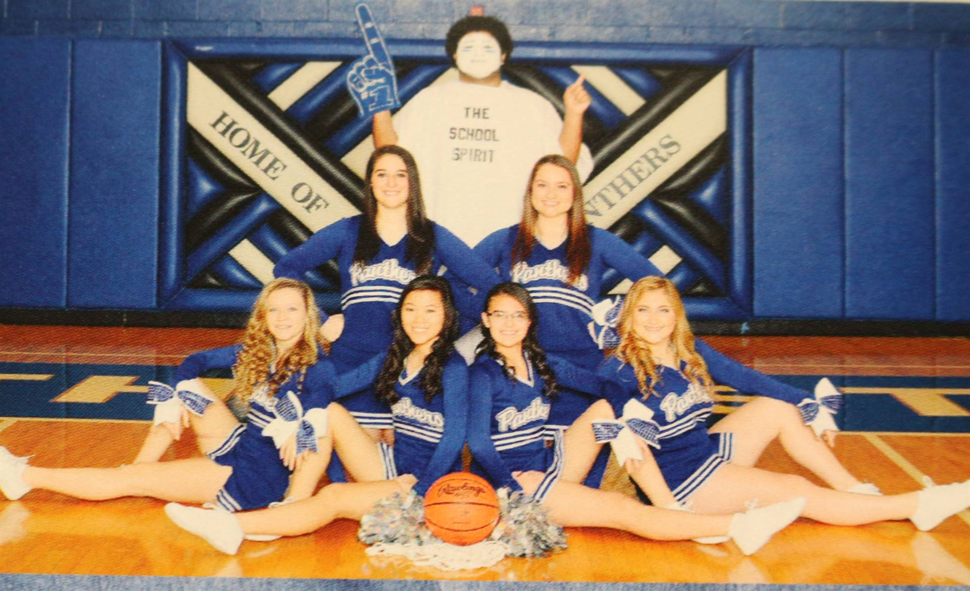 2016 basketball cheerleading