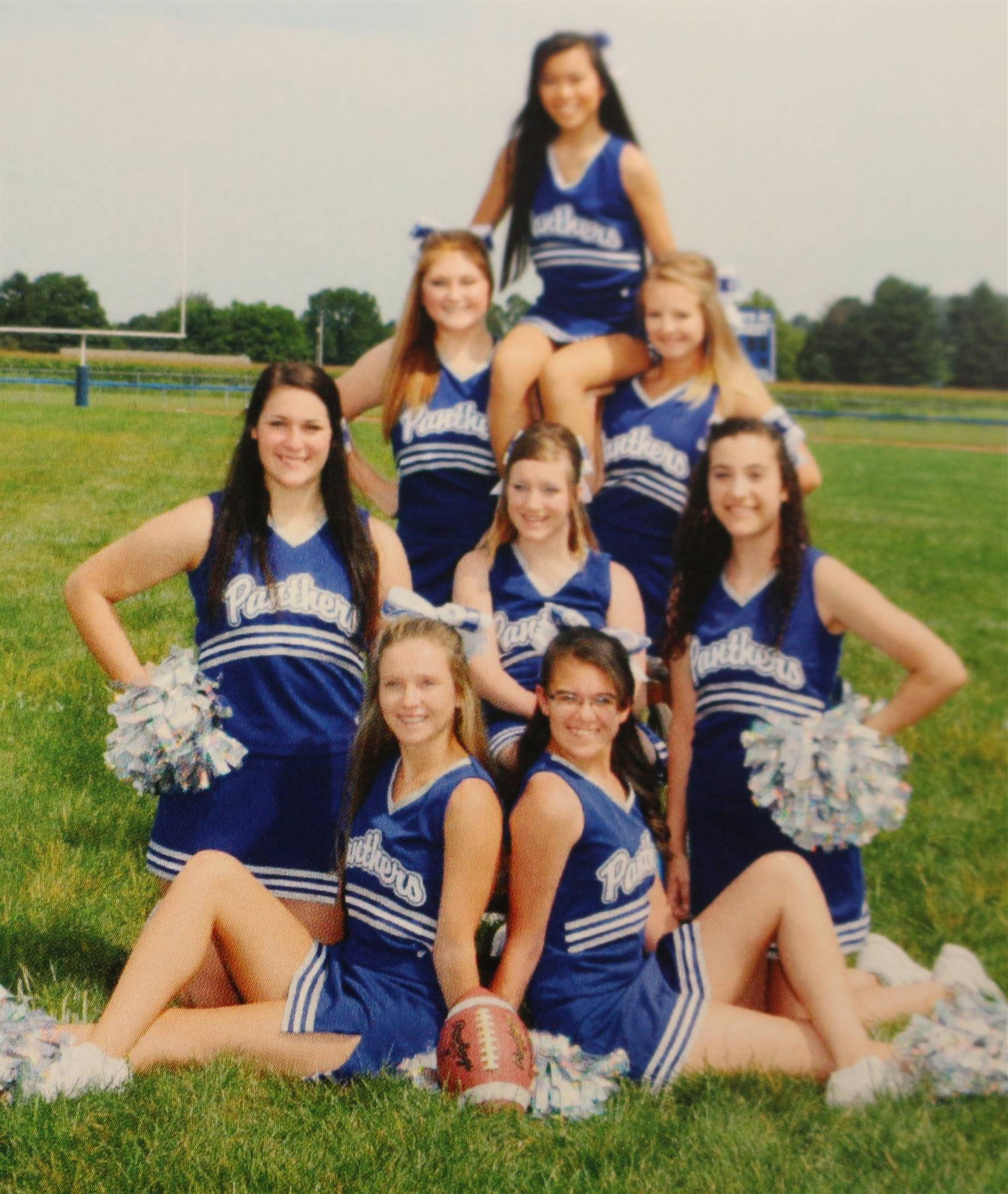 2016 Football Cheerleaders