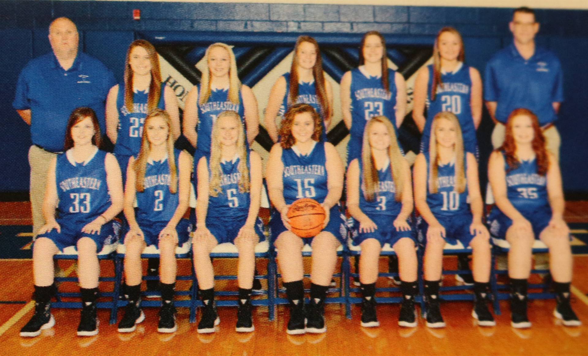 2016 Girls Basketball