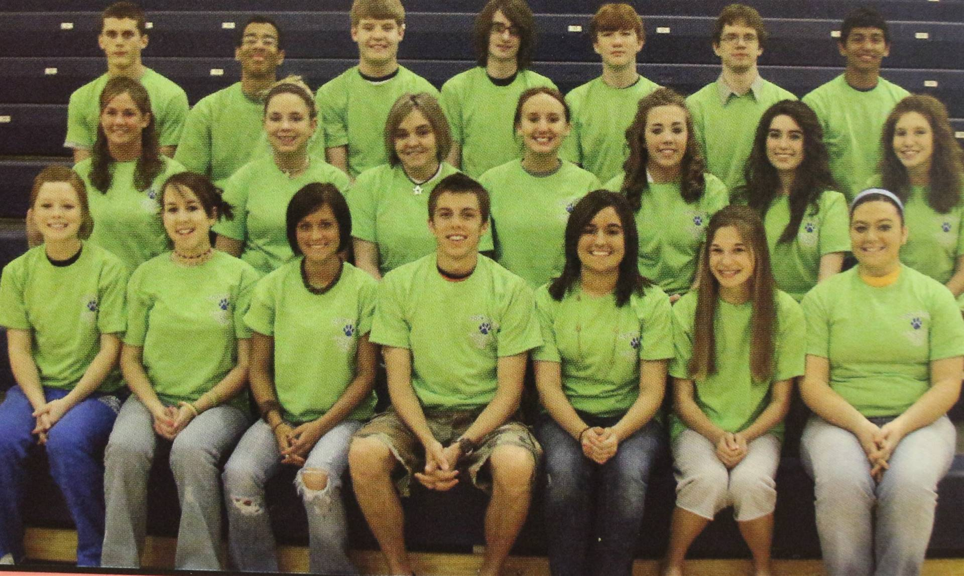 2007 Yearbook Staff