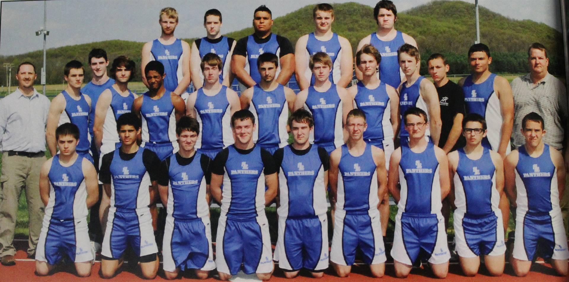 2012 Varsity Boys Track