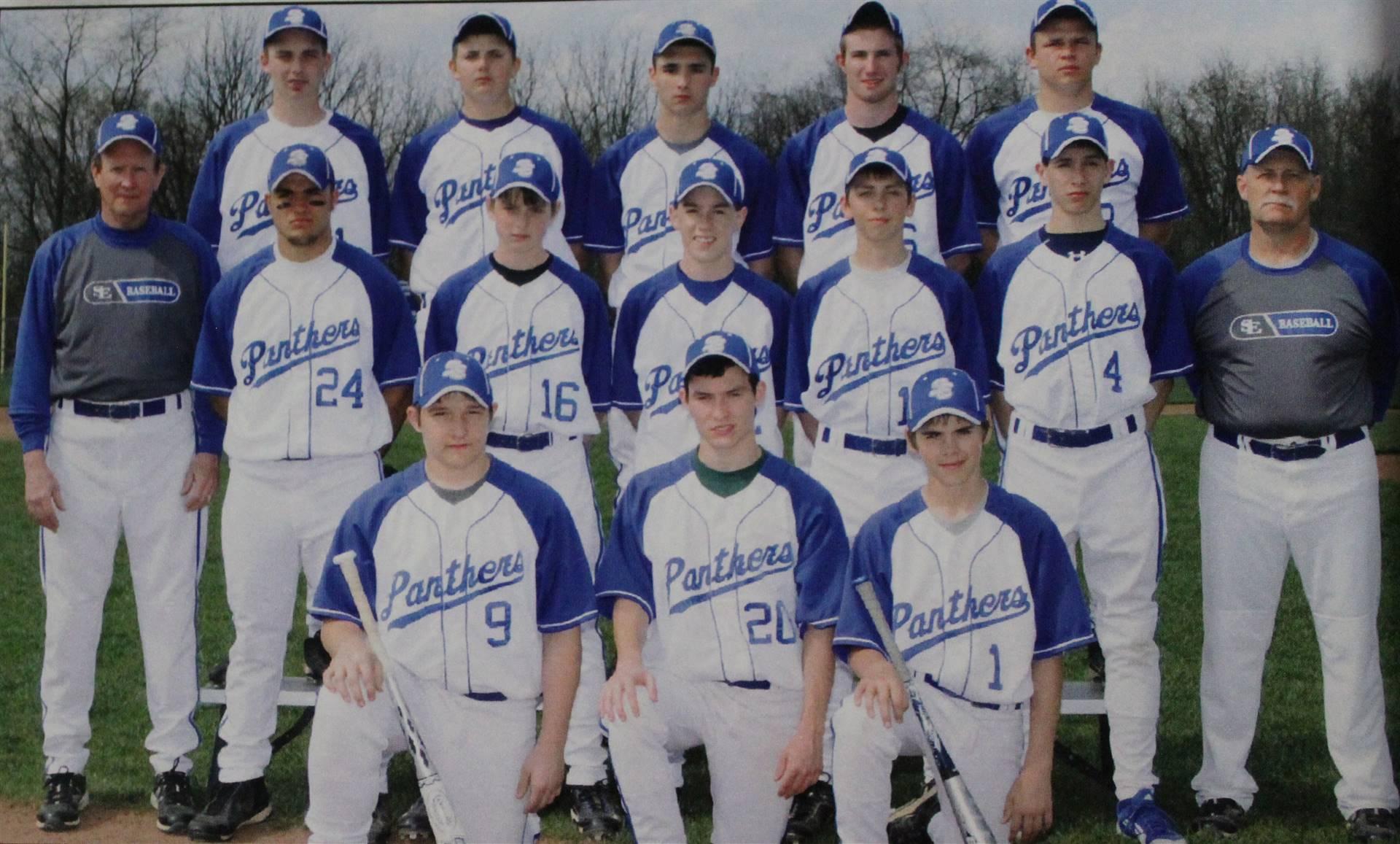 2012 Varsity Boys Baseball