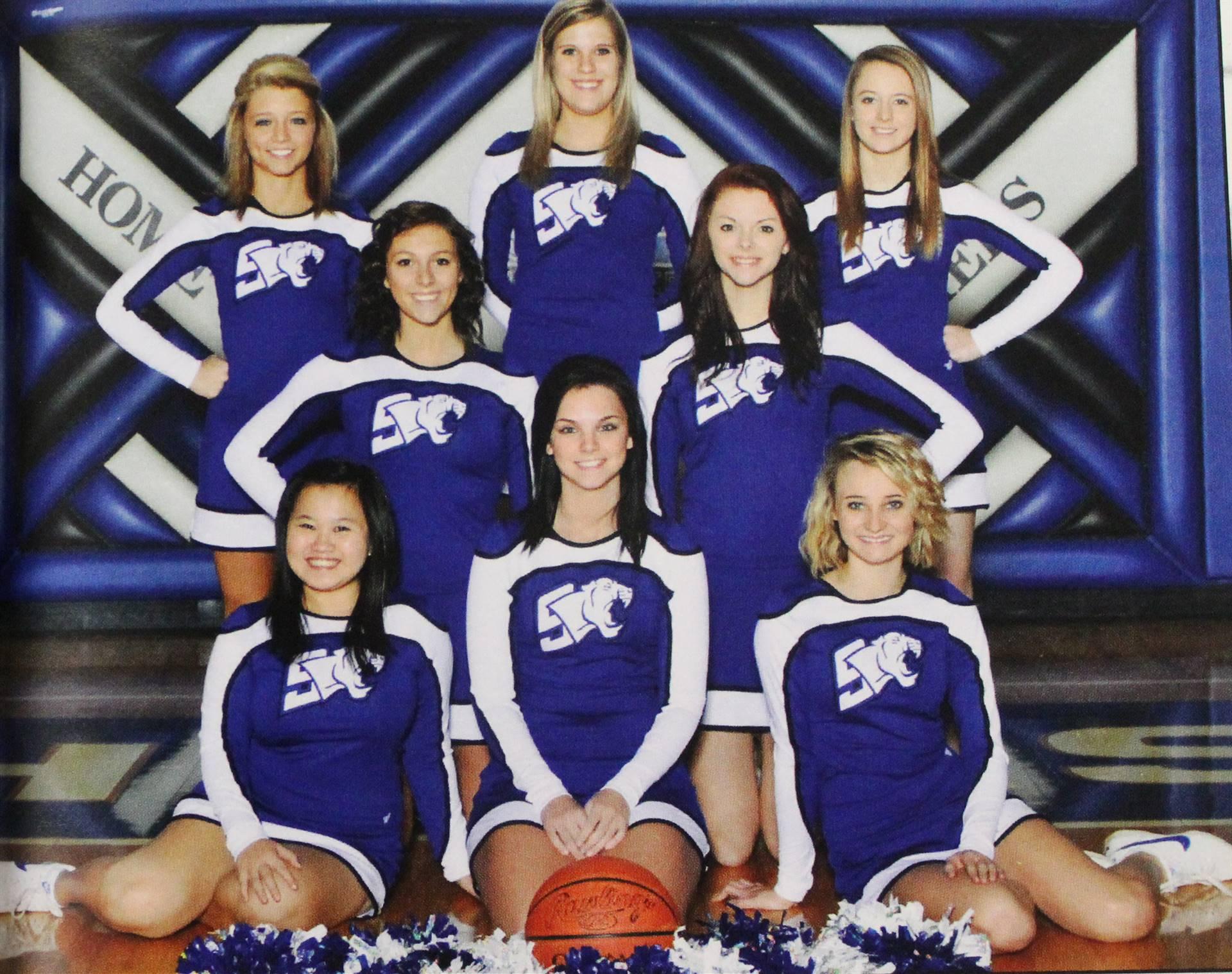 2012 Varsity Basketball Cheer